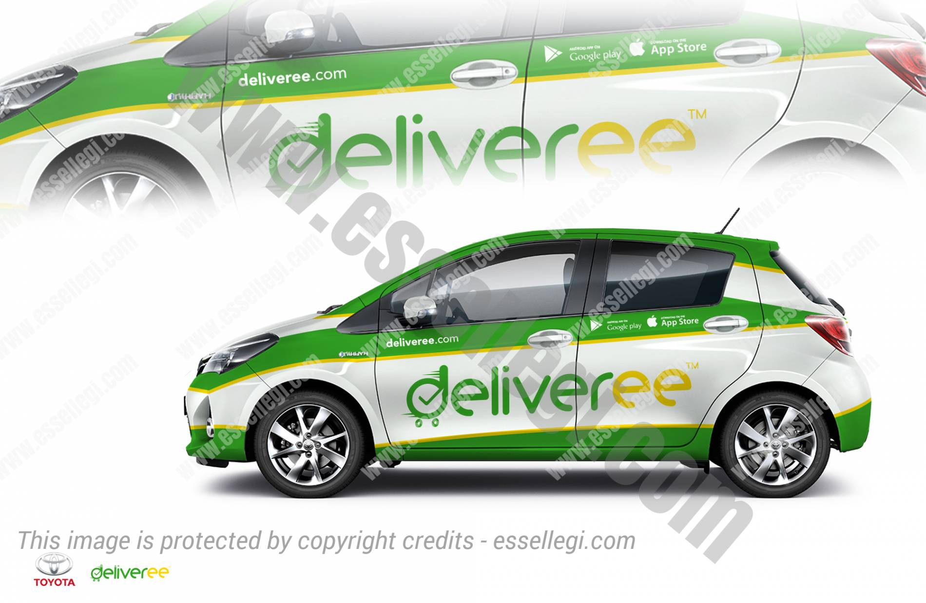 DELIVEREE | CAR, TRUCK AND VAN WRAP DESIGN 🇹🇭