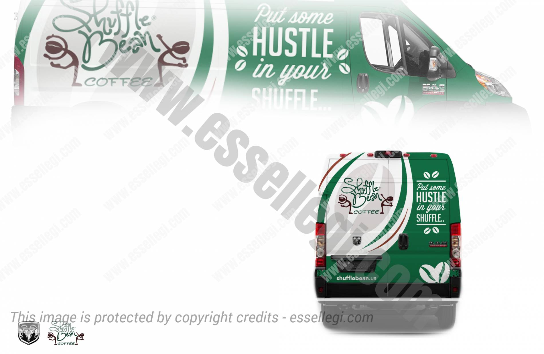 Dodge Ram ProMaster - Van Wrap Design