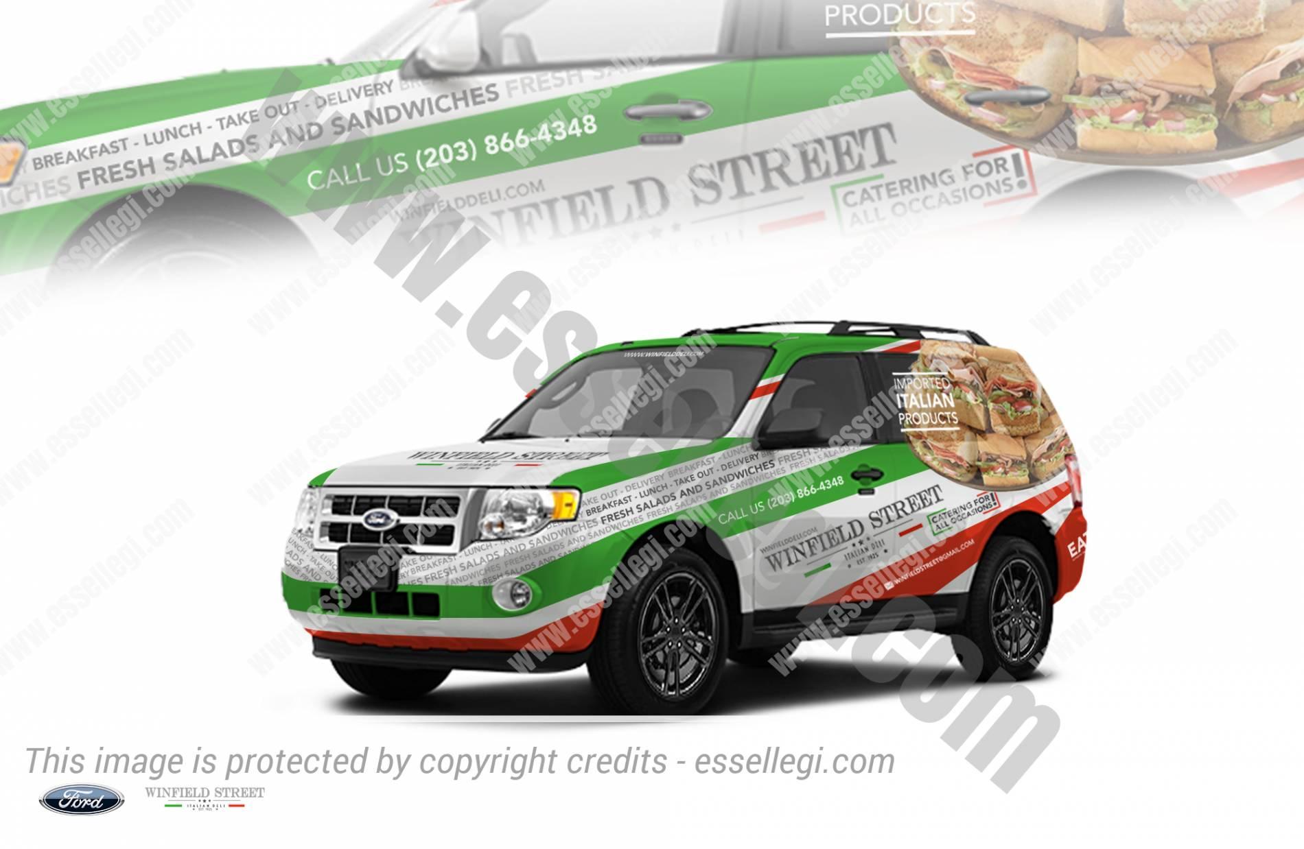 WINFIELD STREET – ITALIAN DELI | CAR WRAP DESIGN 🇺🇸