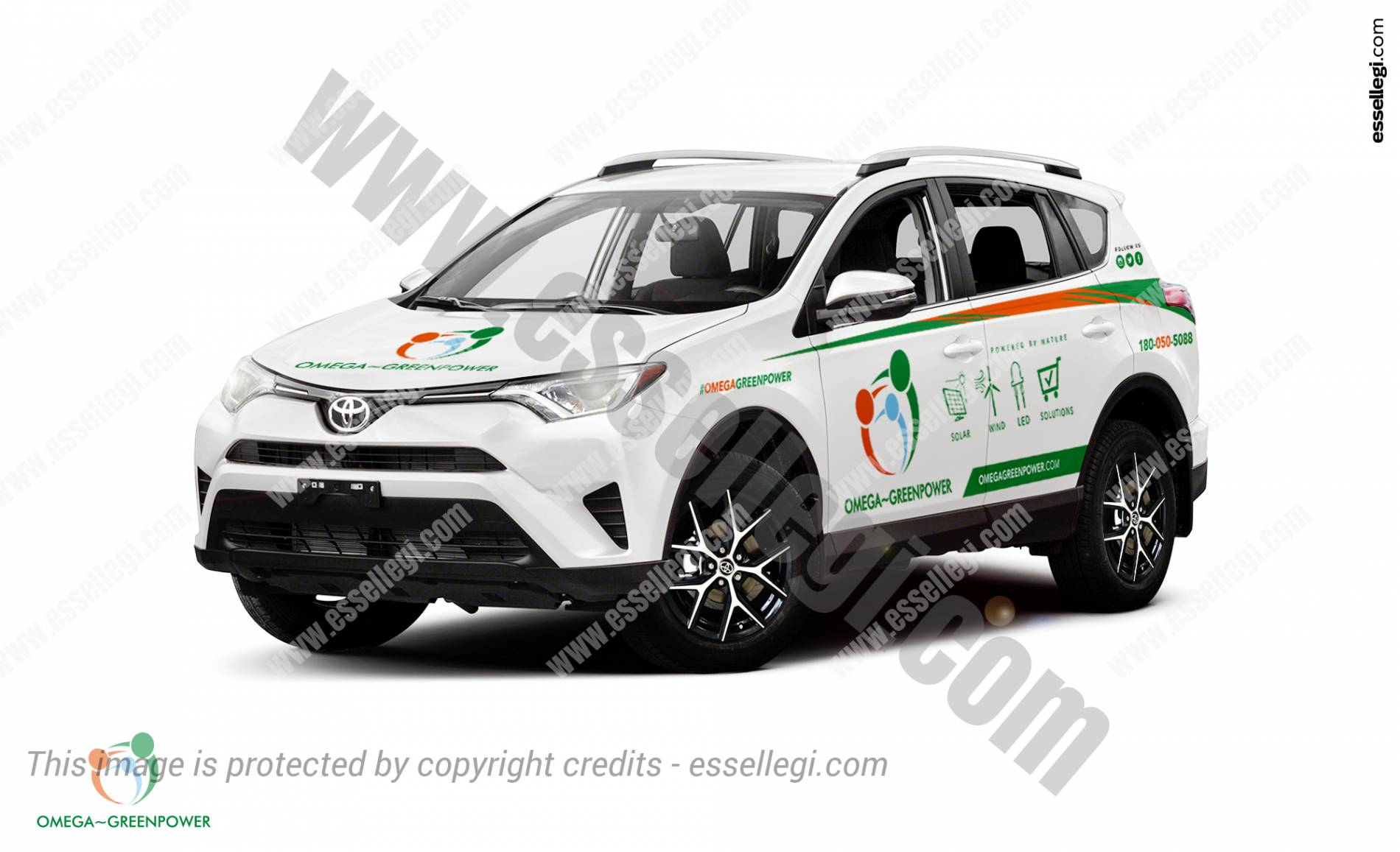 Toyota Rav4 Car Wrap Design By Esegi Signs Signage