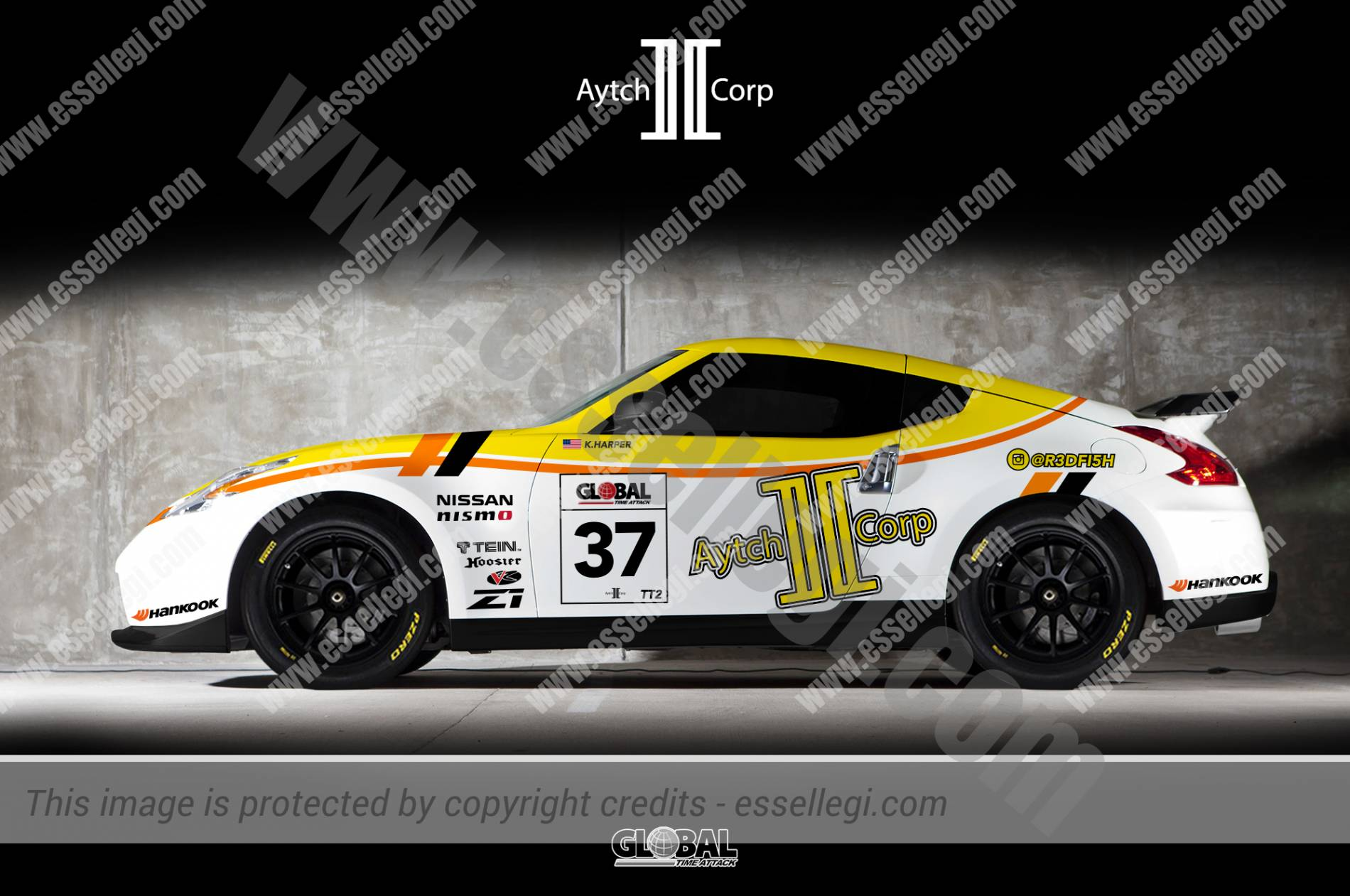 Nissan 370z Motorsport Racing Race Car Livery