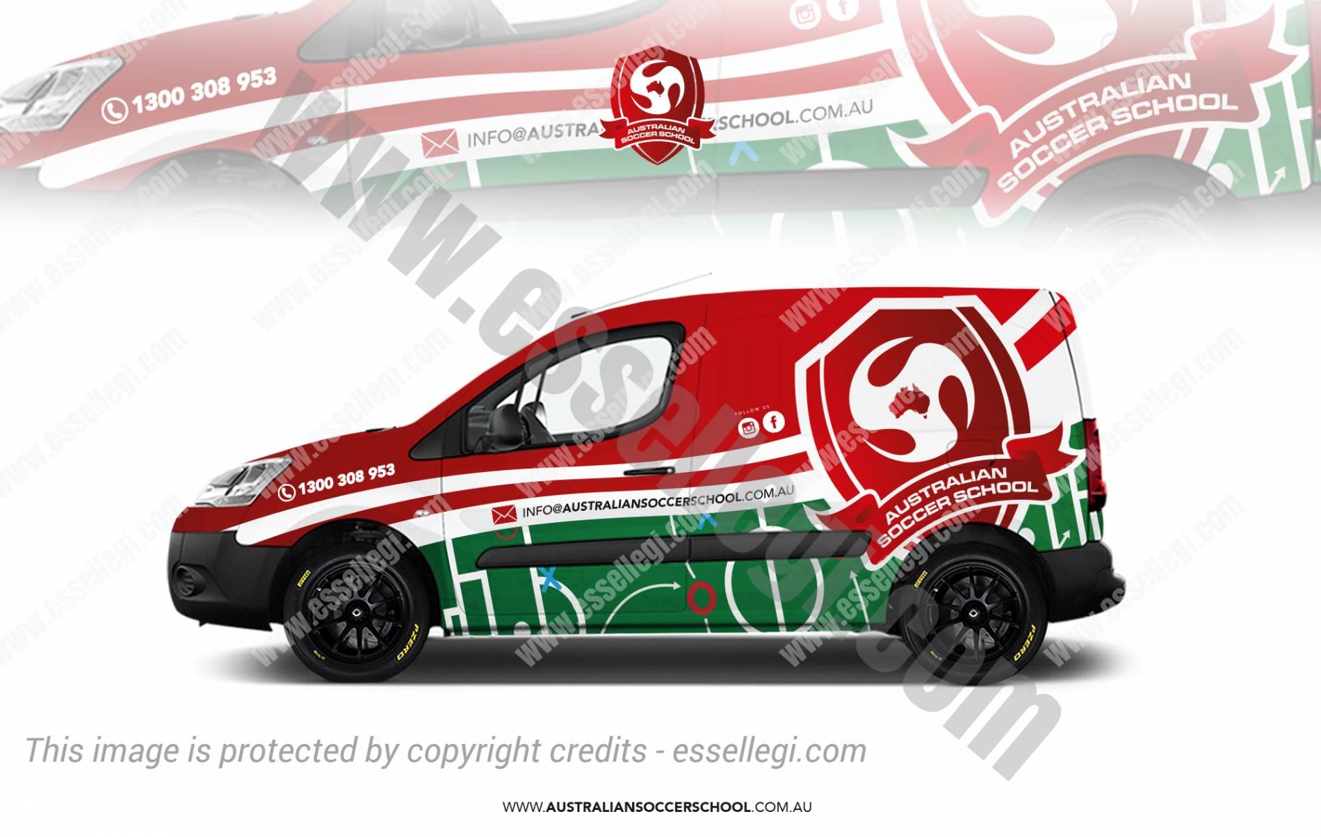 Citroen Berlingo   Van Wrap Design