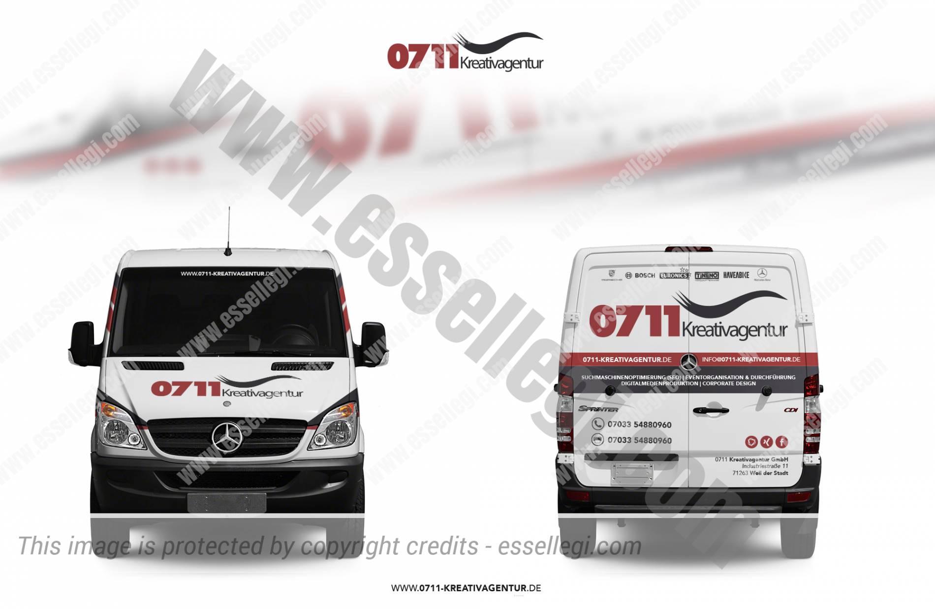 Mercedes Sprinter Van | Van Wrap Design
