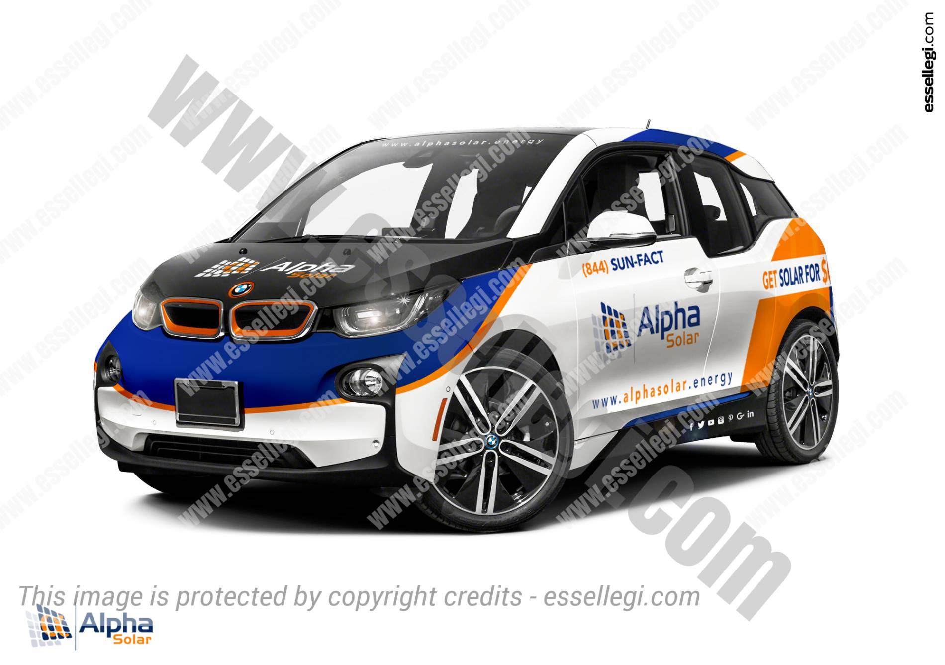 Design car wrap - Bmw I3 Car Wrap Design By Essellegi Car Signs Car Signage Car