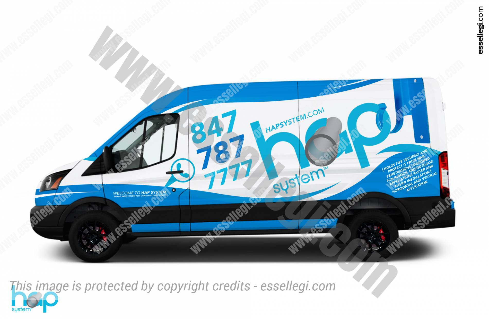 Ford Transit 250 | Van Wrap Design by Essellegi. Van Signs, Van Signage, Van Wrapping, Van Signwriting, Van Wrap Designer, Signs for Van, Van Logo by Essellegi.