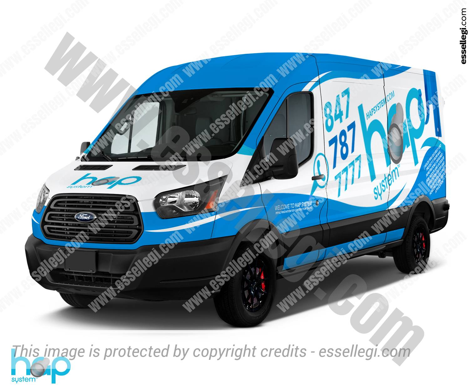 Ford Transit 350 | Van Wrap Design by Essellegi. Van Signs, Van Signage, Van Wrapping, Van Signwriting, Van Wrap Designer, Signs for Van, Van Logo by Essellegi.