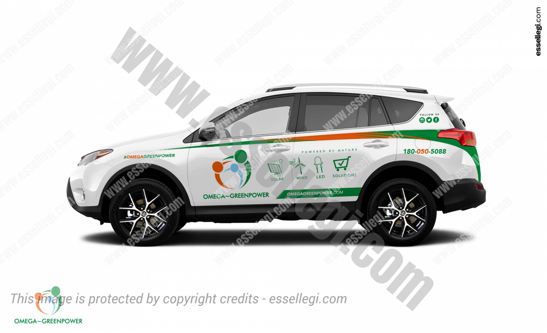 OMEGA GREENPOWER | CAR WRAP DESIGN 🇦🇺