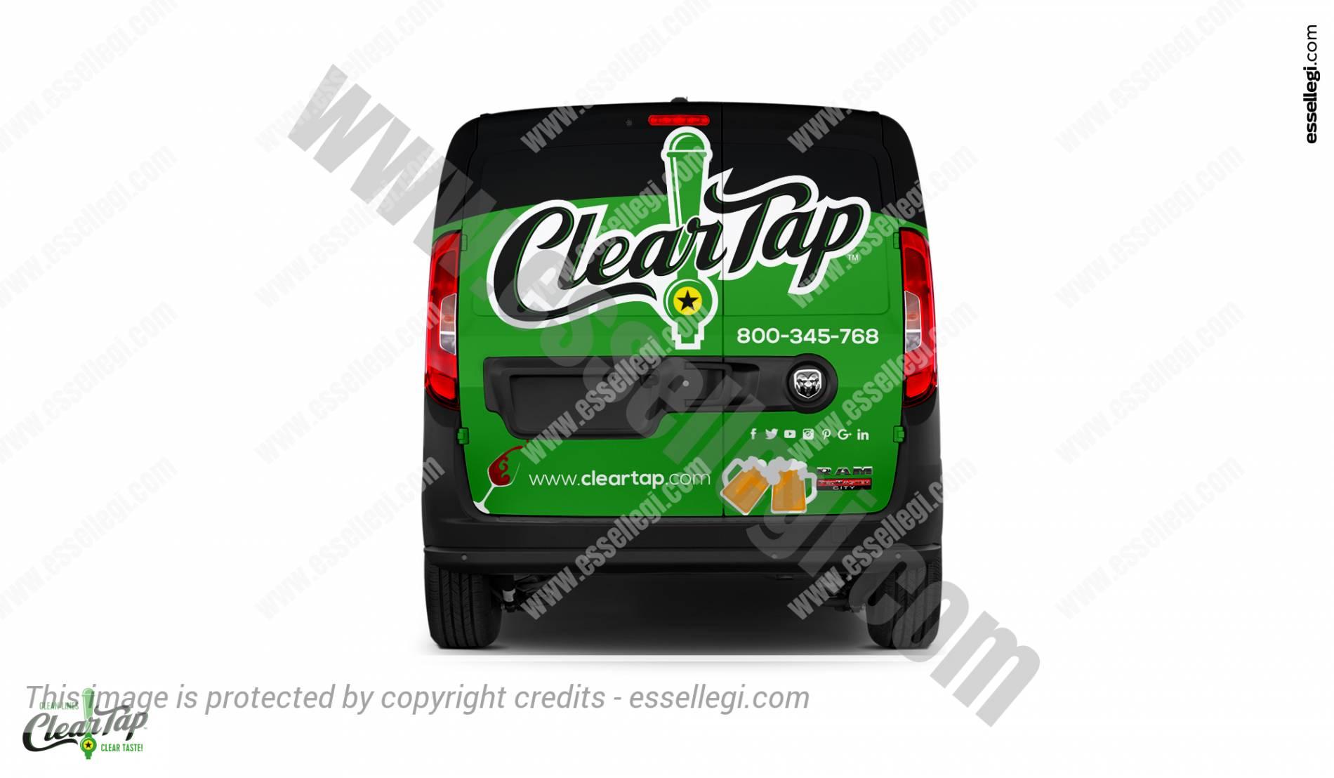 Dodge Ram ProMaster City | Van Wrap Design by Essellegi.Van Signs, Van Signage, Van Wrapping, Van Signwriting, Van Wrap Designer, Signs for Van, Van Logo by Essellegi.