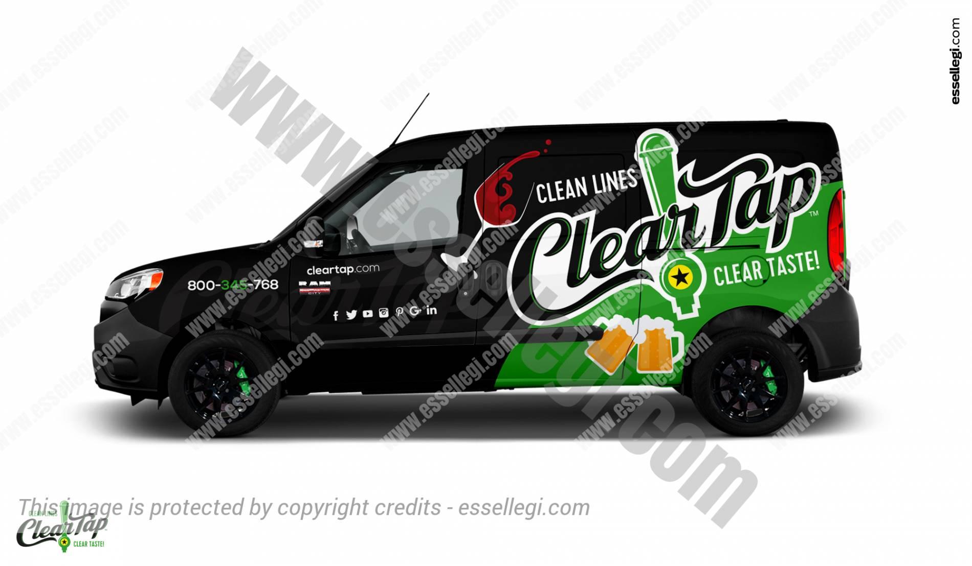 CLEAR TAP | VAN WRAP DESIGN 🇺🇸