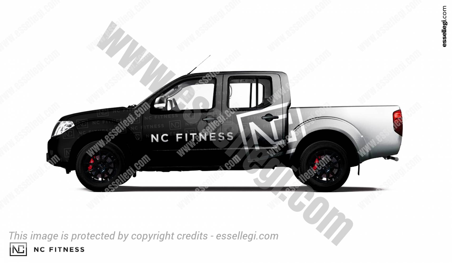 NC FITNESS | PICKUP WRAP DESIGN 🇦🇺