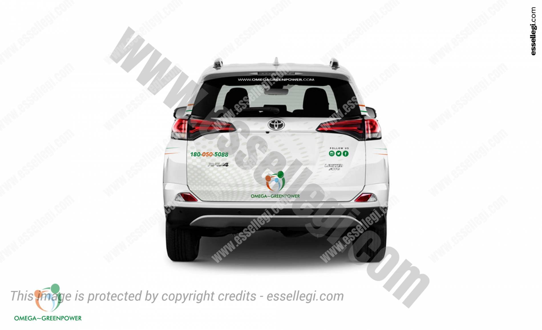 Toyota Rav4 Car Wrap Design By Essellegi