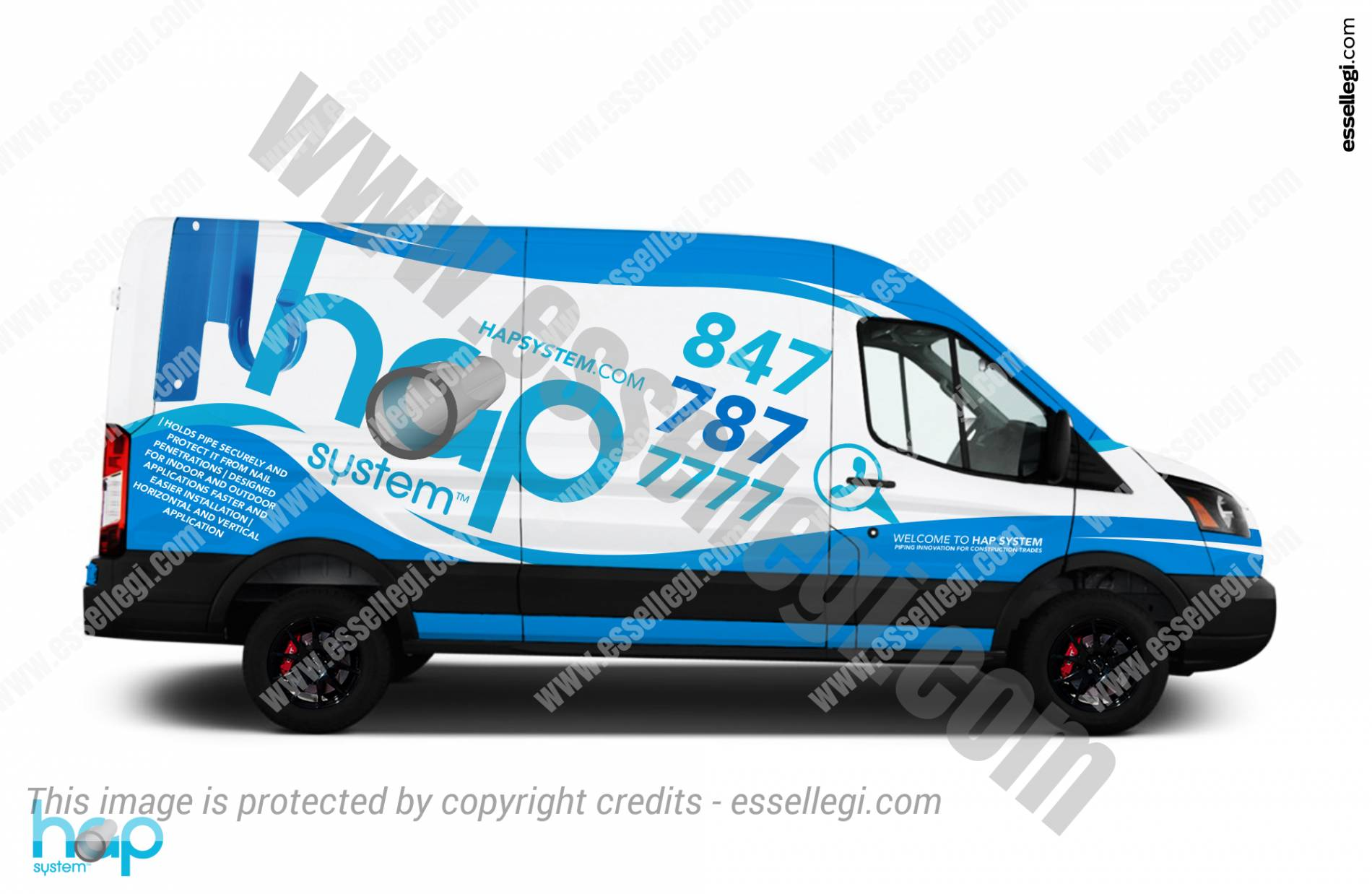 Ford Transit 350 | Van Wrap Design by Essellegi. Van Signs, Van Signage, Van Wrapping, Van Signwriting, Van Wrap Designer, Signs for Van, Van Logo, Van Graphic by Essellegi.
