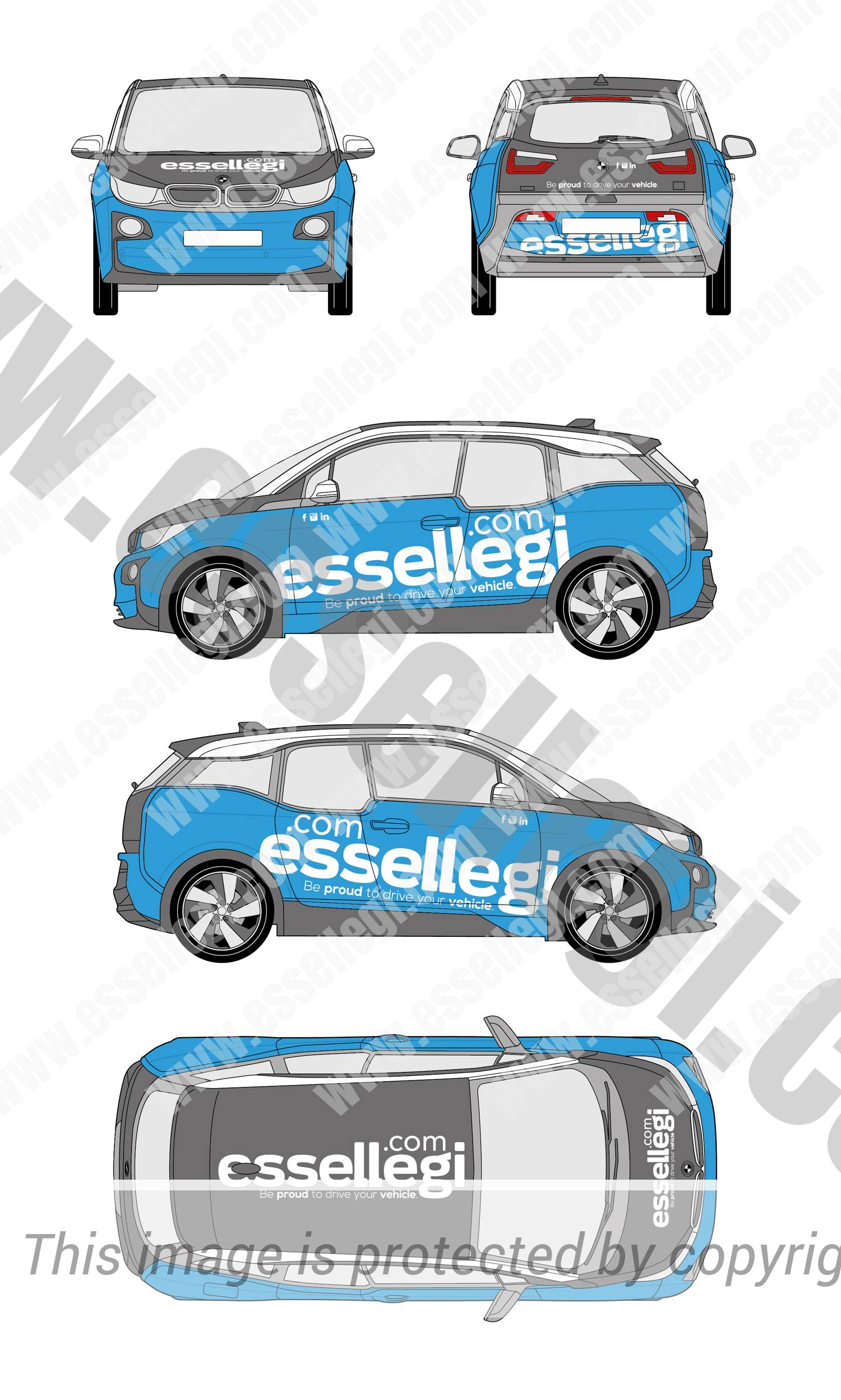 Car, Truck or Van Wrap Design by Essellegi. Van Signs, Van Signage, Van Wrapping, Van Signwriting, Van Wrap Designer, Signs for Van, Van Logo, Van Graphic, Car Signs, Car Signage, Car Signwriting, Car Wrap Designer, Car Graphic, Custom Vehicle Signage, Car Wrap Design by Essellegi.