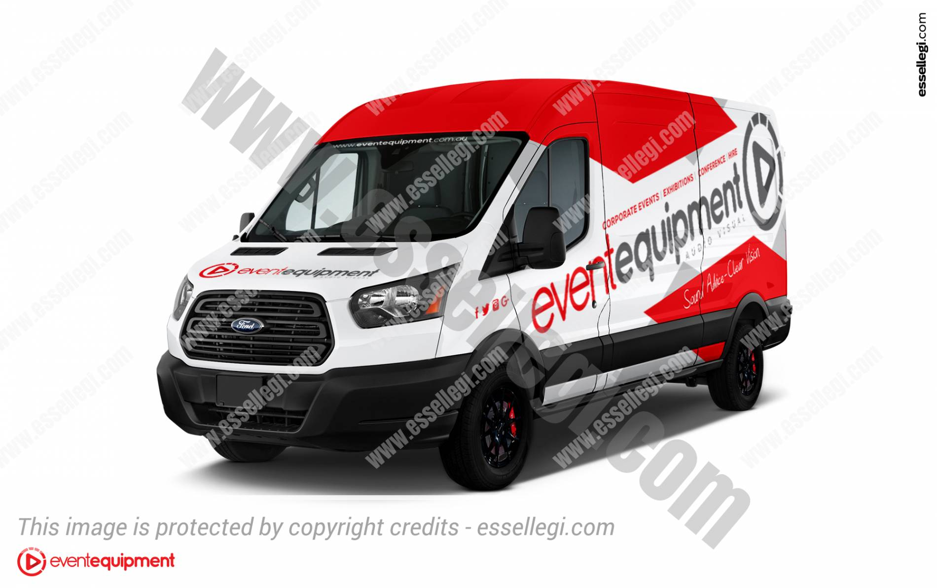 signage design signs transit graphic essellegi for wrapping van front signwriting designer ford logo by wrap