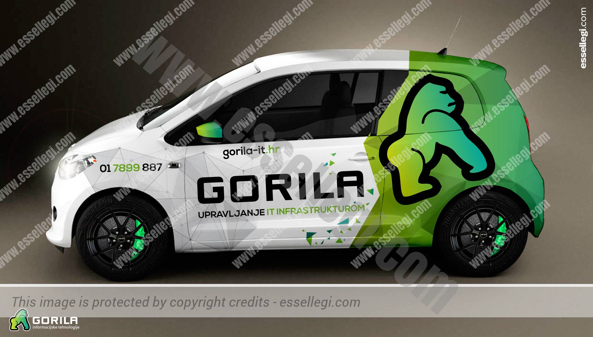 Skoda citigo car wrap design by essellegi car signs car signage car