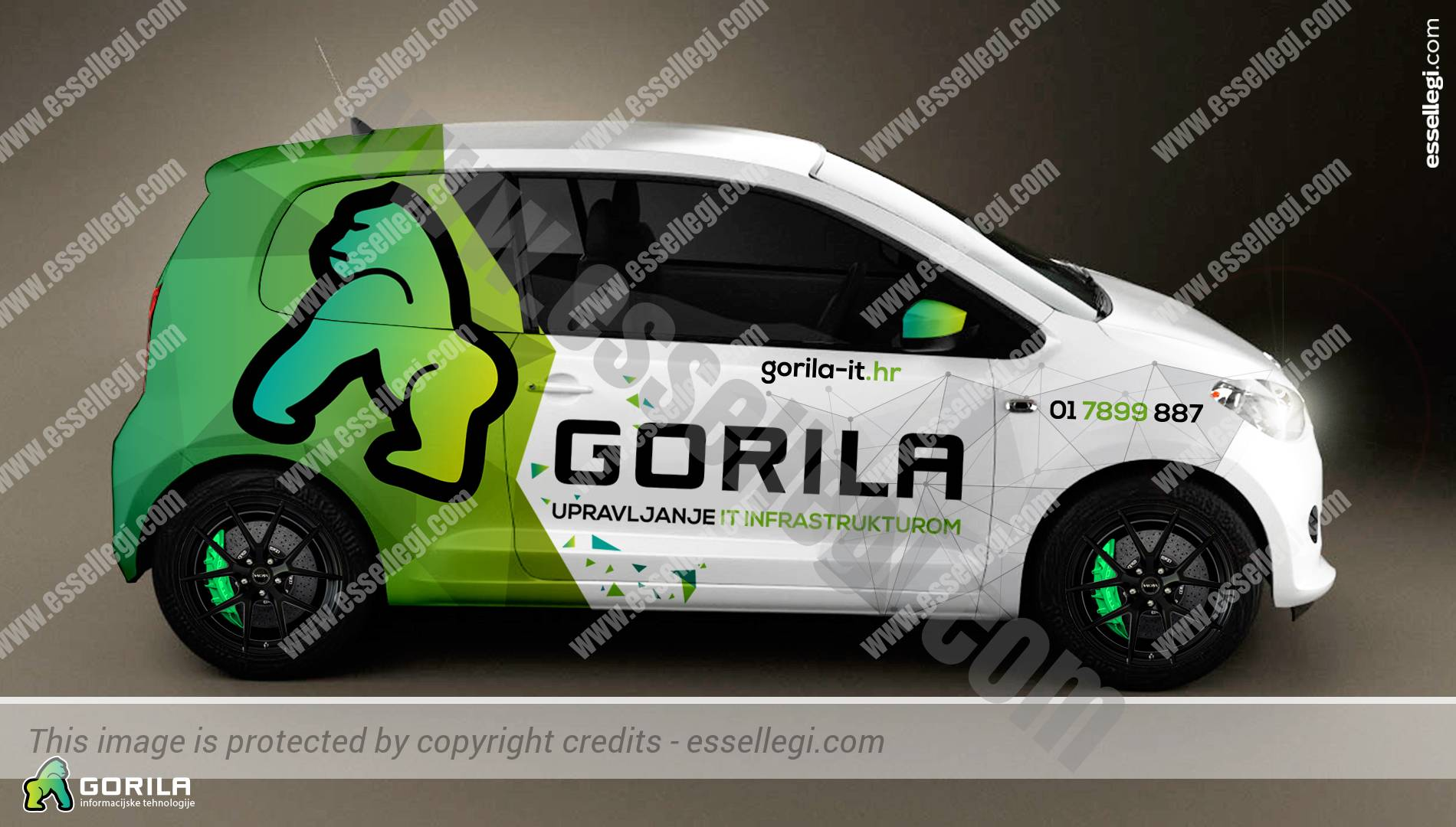 Skoda Citigo | Car Wrap Design by Essellegi. Car Signs, Car Signage, Car Signwriting, Car Wrap Designer, Car Graphic, Custom Vehicle Signage, Car Wrap Design by Essellegi.