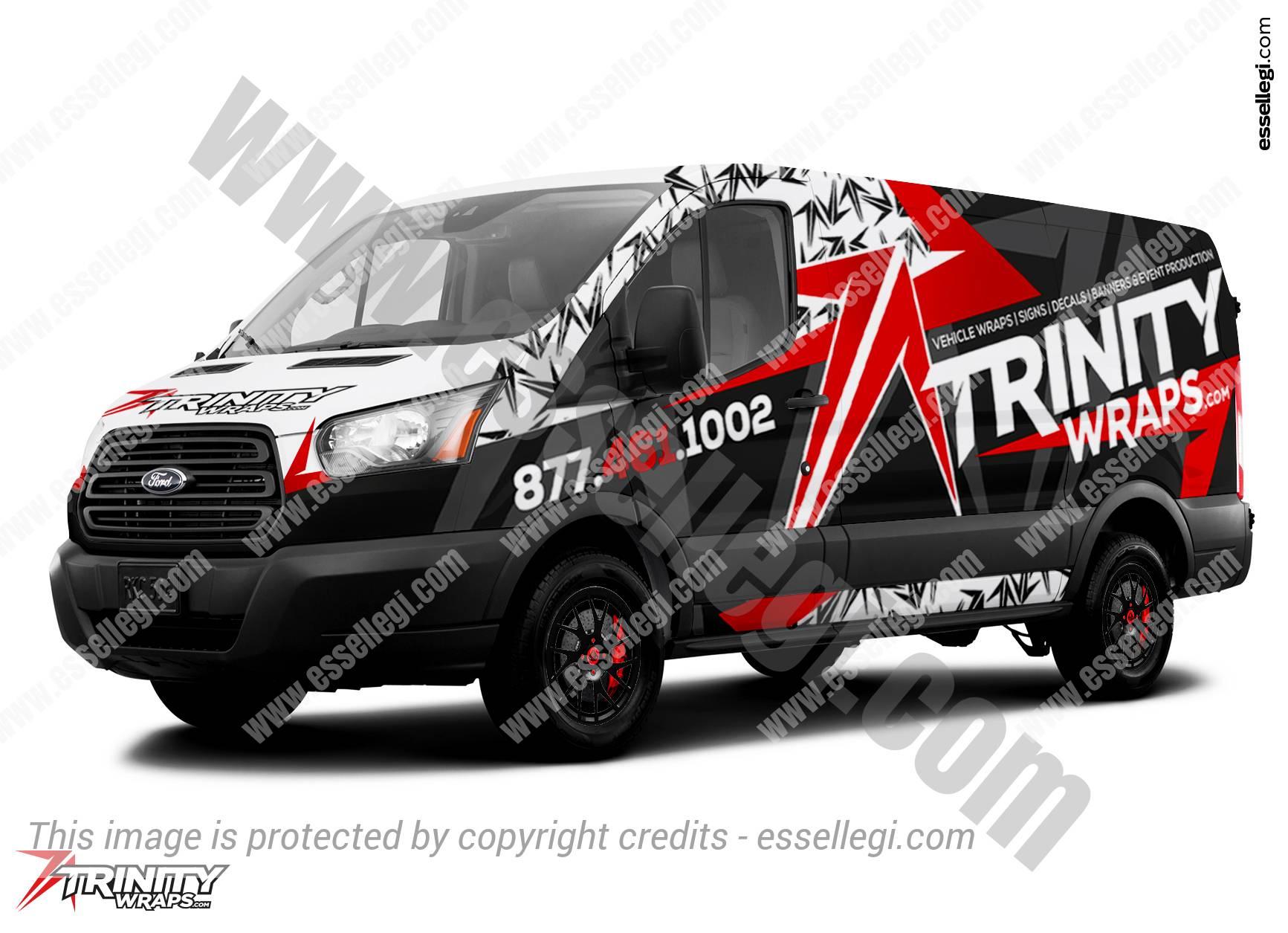 FORD TRANSIT 250 | VAN WRAP DESIGN