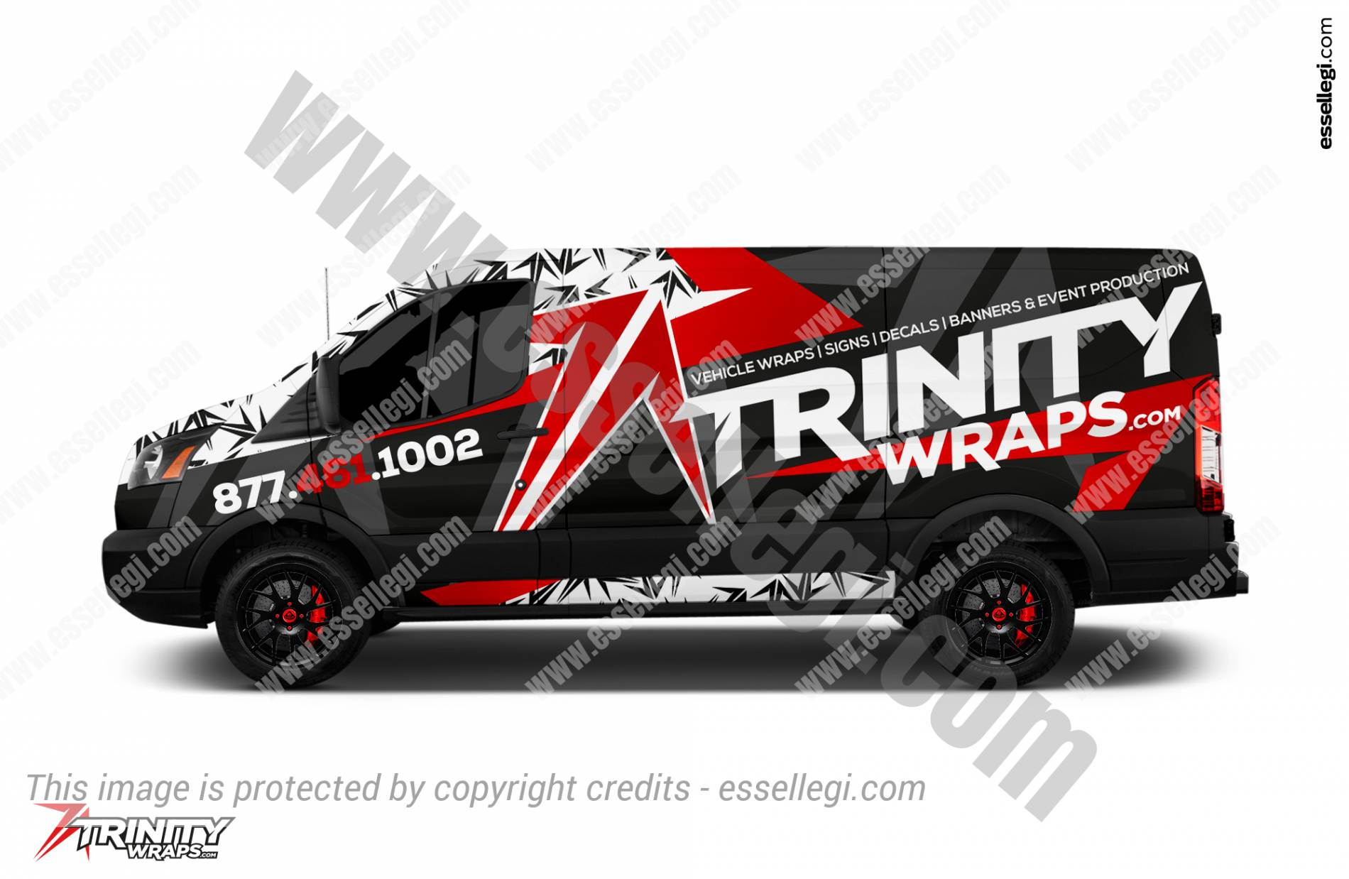 Ford Transit 250 | Van Wrap Design by Essellegi. Van Signs, Van Signage, Van Wrapping, Van Signwriting, Van Wrap Designer, Signs for Van, Van Logo, Van Graphic by Essellegi.