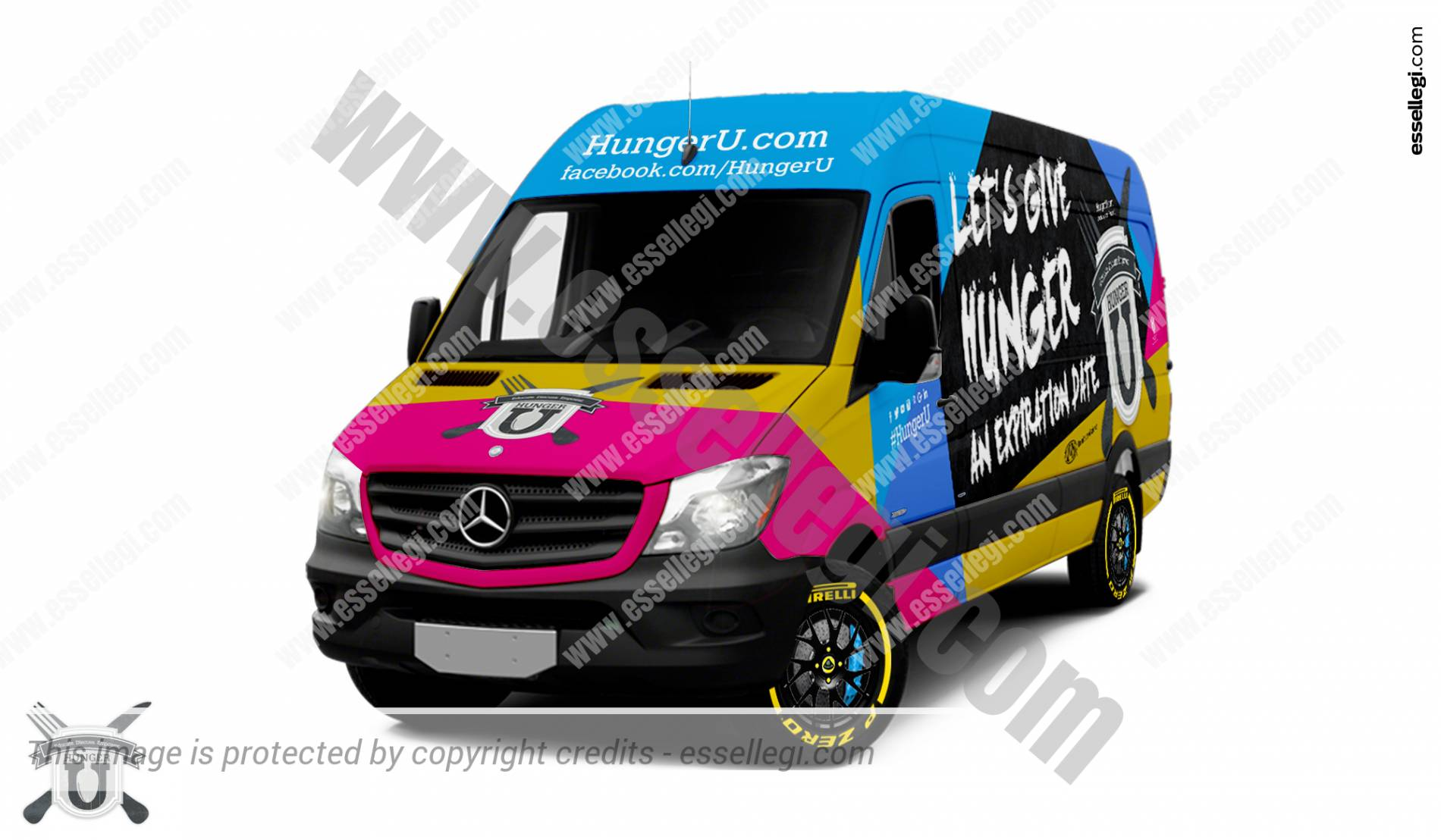 Mercedes Sprinter | Van Wrap Design by Essellegi. Van Signs, Van Signage, Van Wrapping, Van Signwriting, Van Wrap Designer, Signs for Van, Van Logo, Van Graphic by Essellegi.