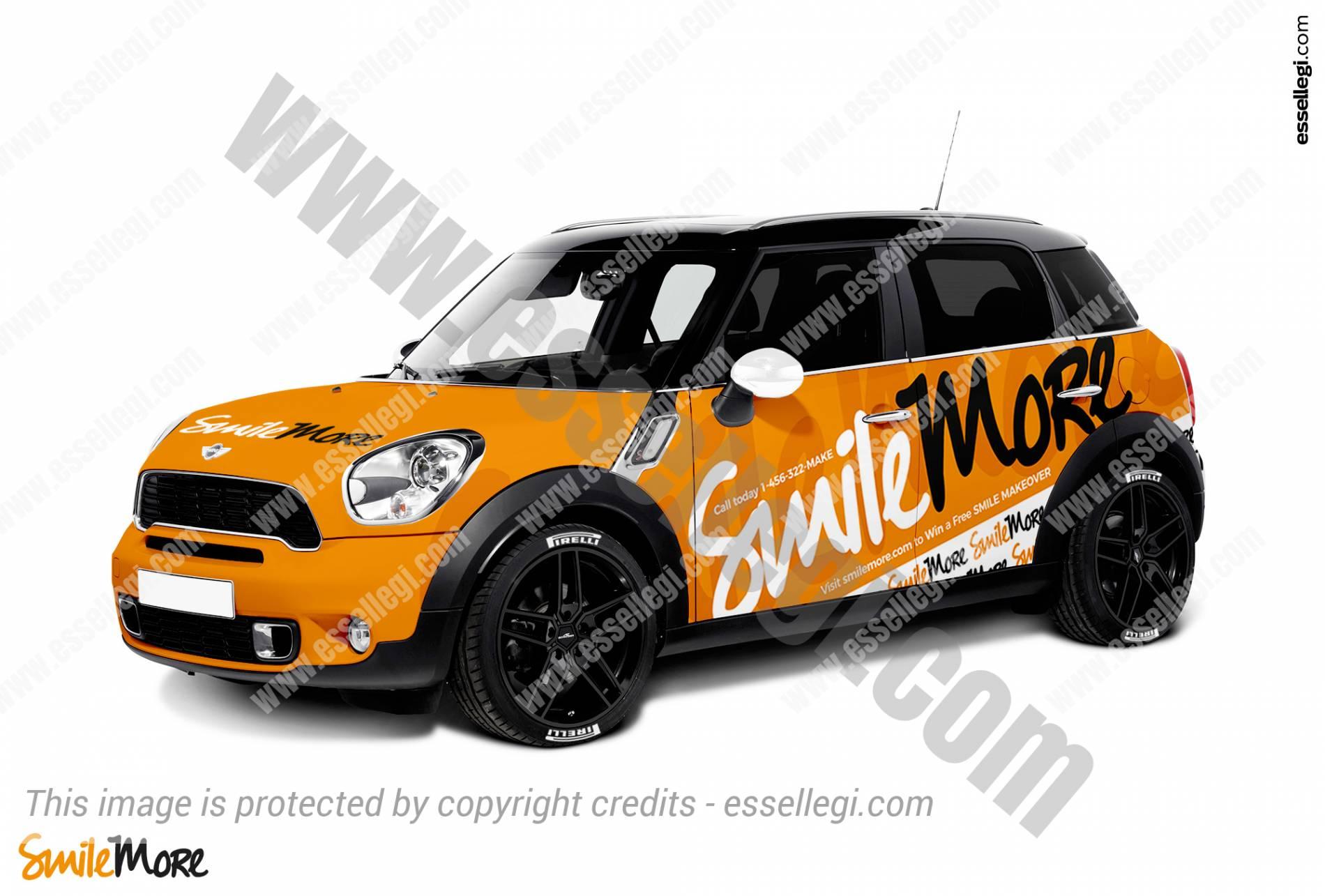 Mini Cooper Countryman Car Wrap Design By Esegi Signs Signage