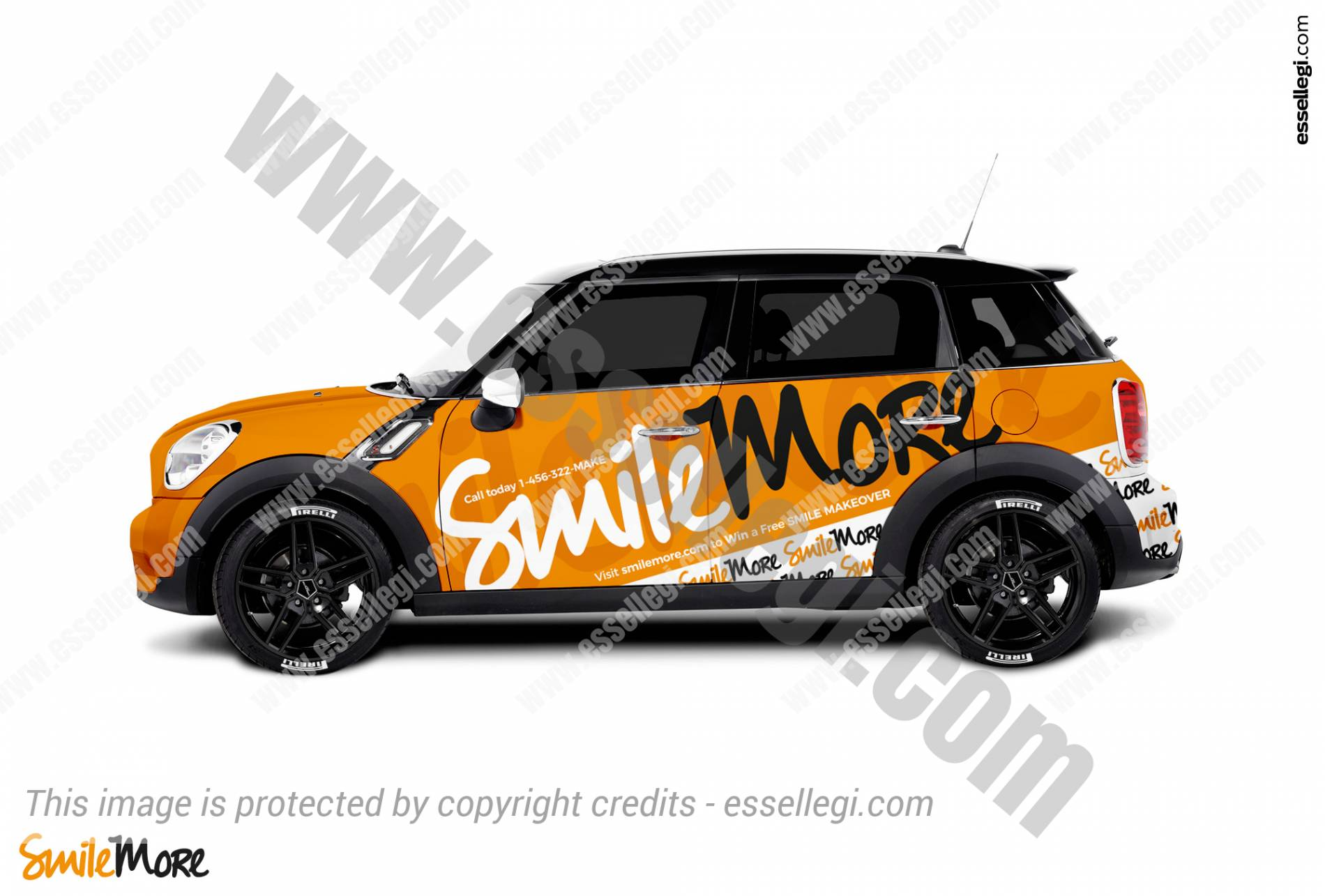 SMILEMORE | CAR WRAP DESIGN 🇺🇸