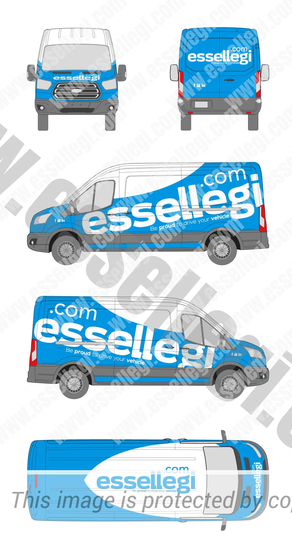 Ford Transit Wrap Design By Essellegi Create Your Now