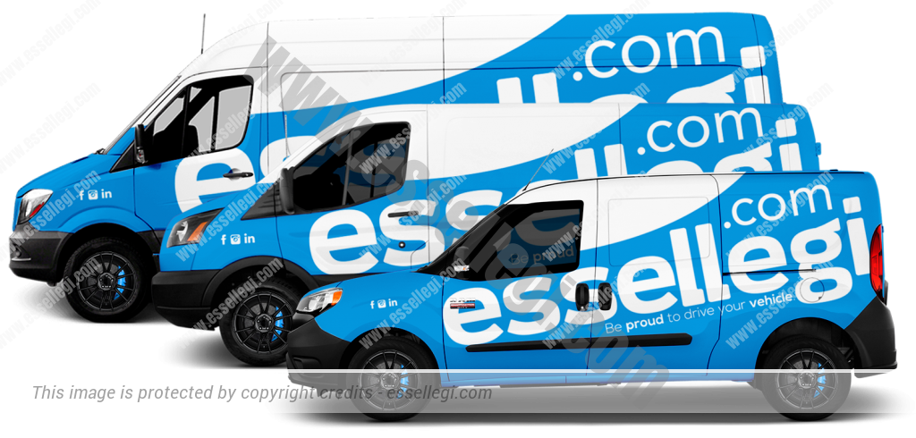 Van Signs by Essellegi. Create Your Van Signs, Now!