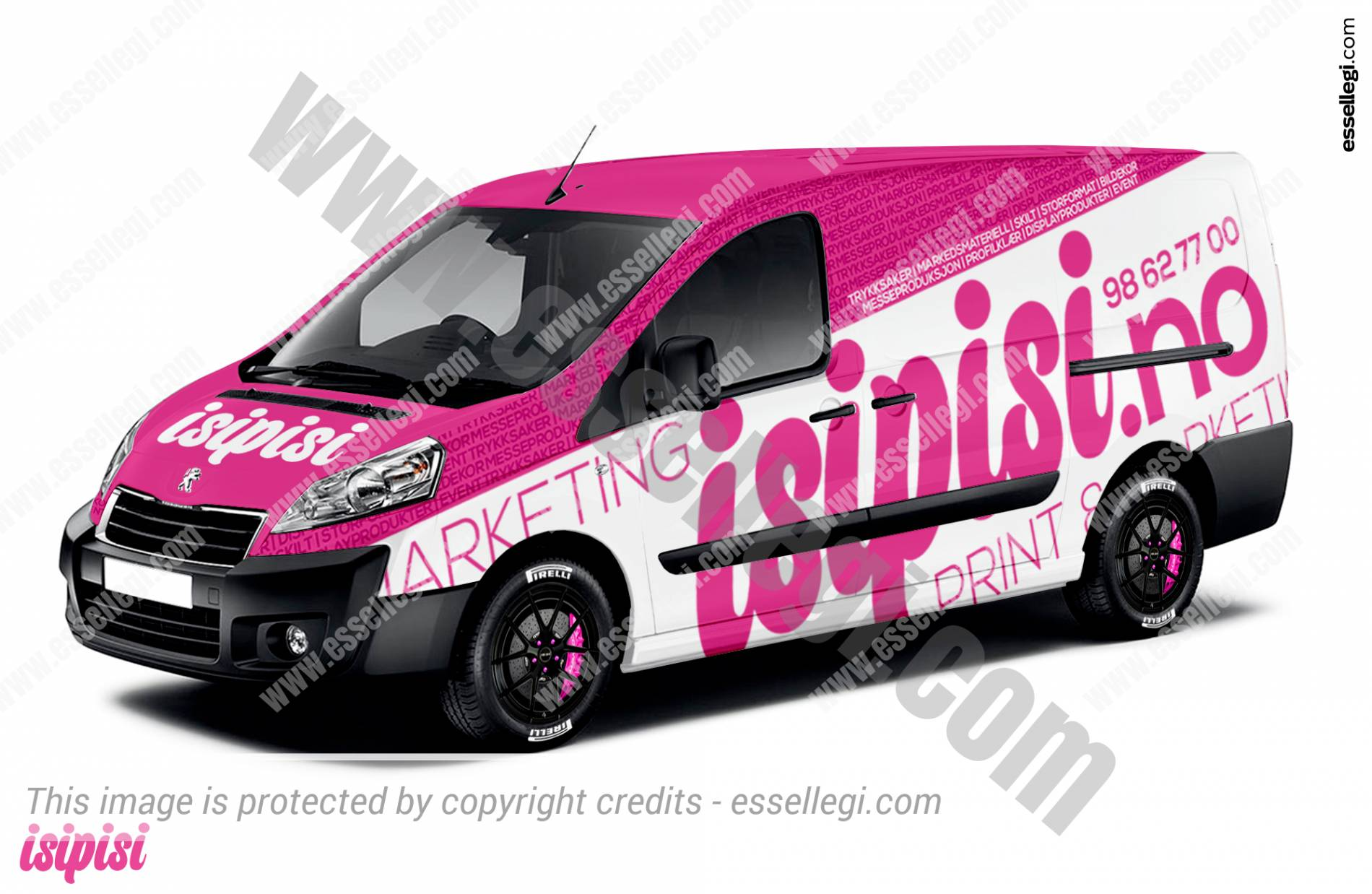 Peugeot Expert | Van Wrap Design by Essellegi. Van Signs, Van Signage, Van Wrapping, Van Signwriting, Van Wrap Designer, Signs for Van, Van Logo, Van Graphic by Essellegi.