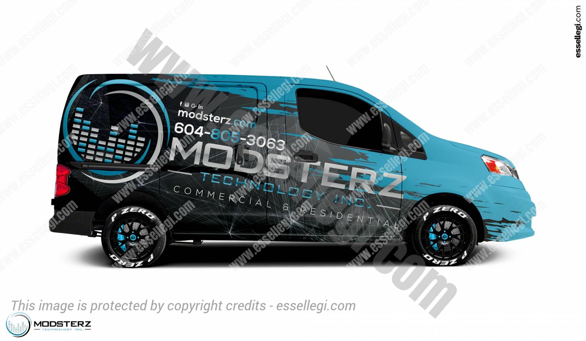 Nissan Work Van >> NISSAN NV200 | VAN WRAP DESIGN BY ESSELLEGI