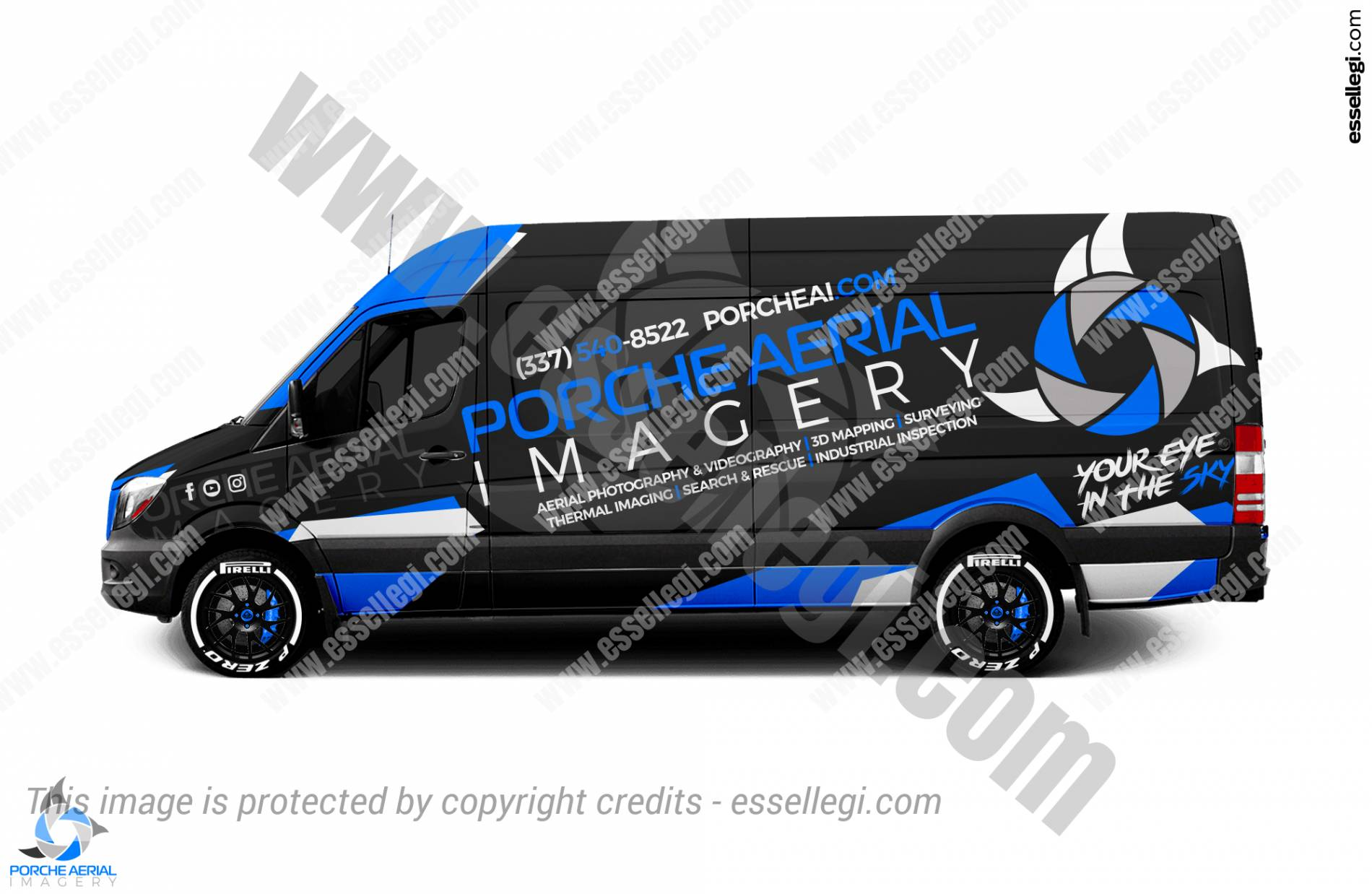 Sprinter Wrap Design. Mercedes Sprinter 2500 | Van Wrap Design by Essellegi. Van Signs, Van Signage, Van Wrapping, Van Signwriting, Van Wrap Designer, Signs for Van, Van Logo, Van Graphic by Essellegi.