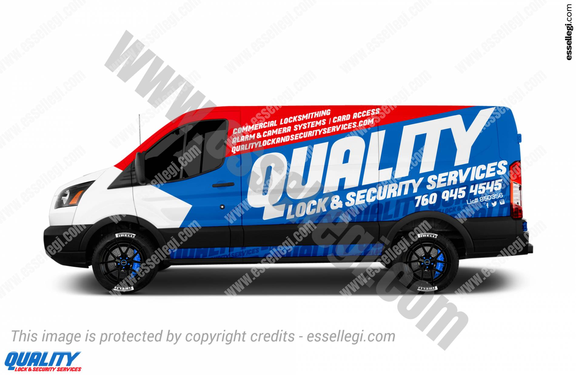 QUALITY LOCK & SECURITY | VAN WRAP DESIGN 🇺🇸