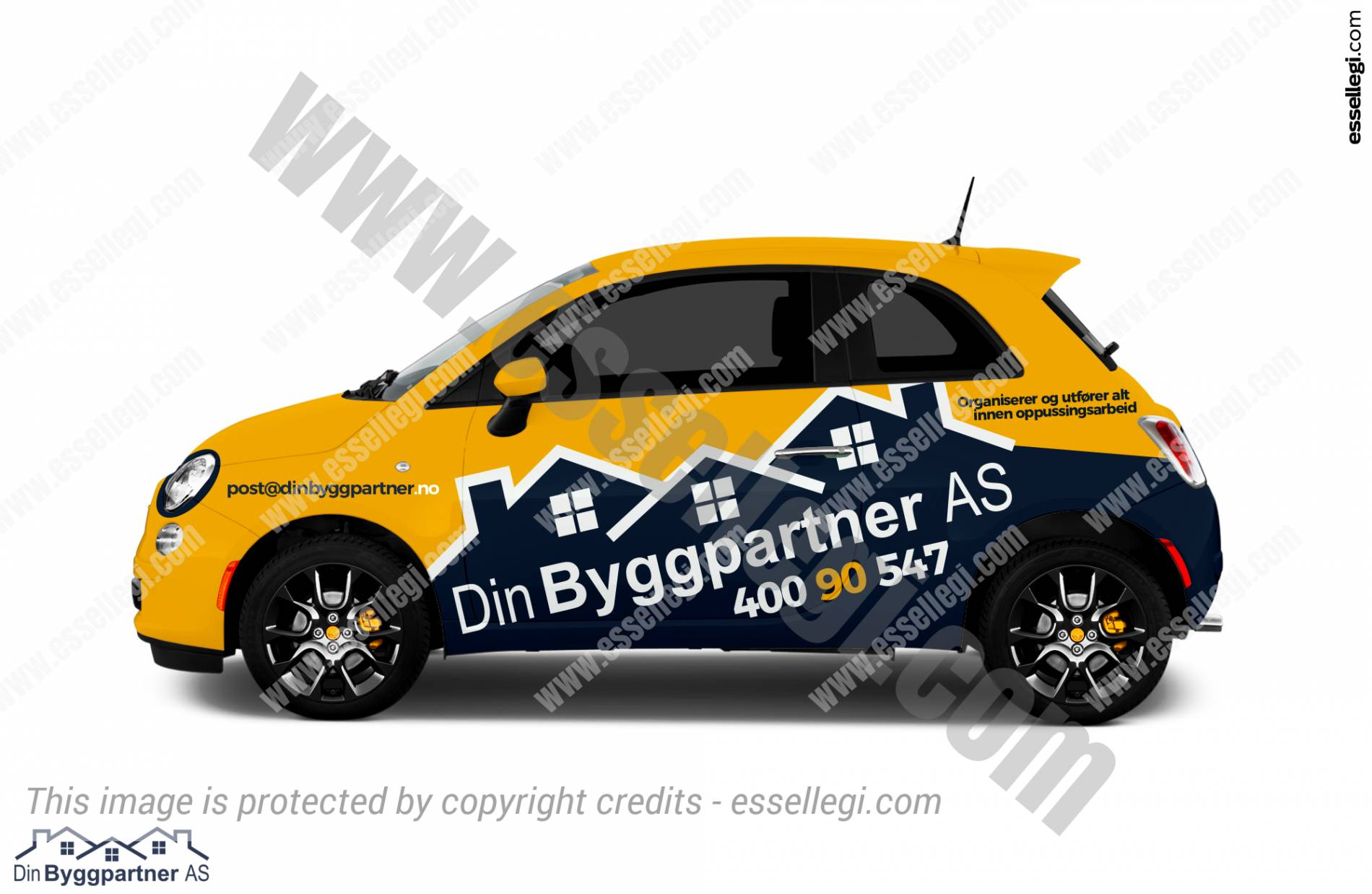 DIN BYGGPARTNER AS | CAR WRAP DESIGN 🇳🇴