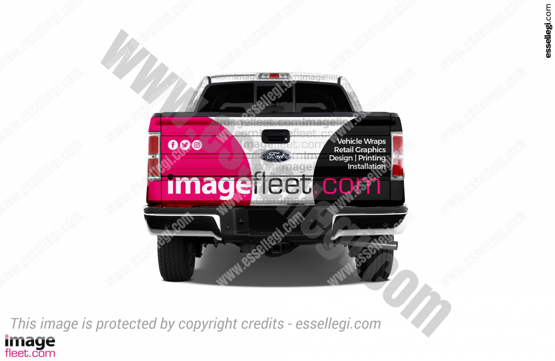 Ford F150 Wrap. Ford F150 | Truck Wrap Design by Essellegi. Truck Signs, Truck Signage, Truck Wrapping, Truck Signwriting, Truck Wrap Designer, Signs for Truck, Truck Logo, Truck Graphic by Essellegi.