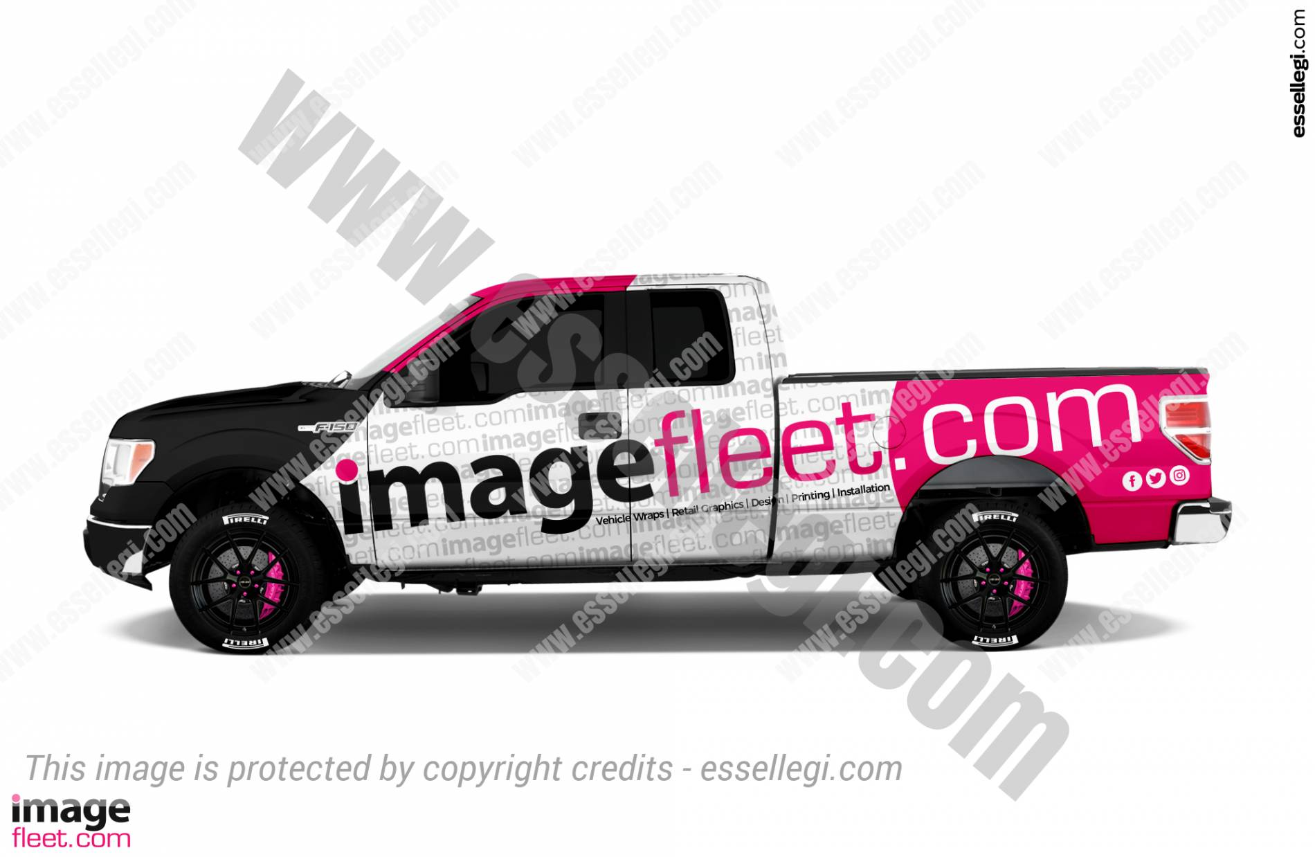 IMAGE FLEET GRAPHICS | TRUCK WRAP DESIGN 🇺🇸