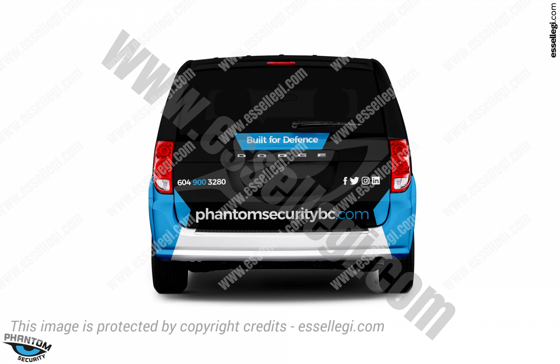 Gran Caravan Wrap Design. Dodge Gran Caravan   Van Wrap Design by Essellegi. Van Signs, Van Signage, Van Wrapping, Van Signwriting, Van Wrap Designer, Signs for Van, Van Logo, Van Graphic by Essellegi.