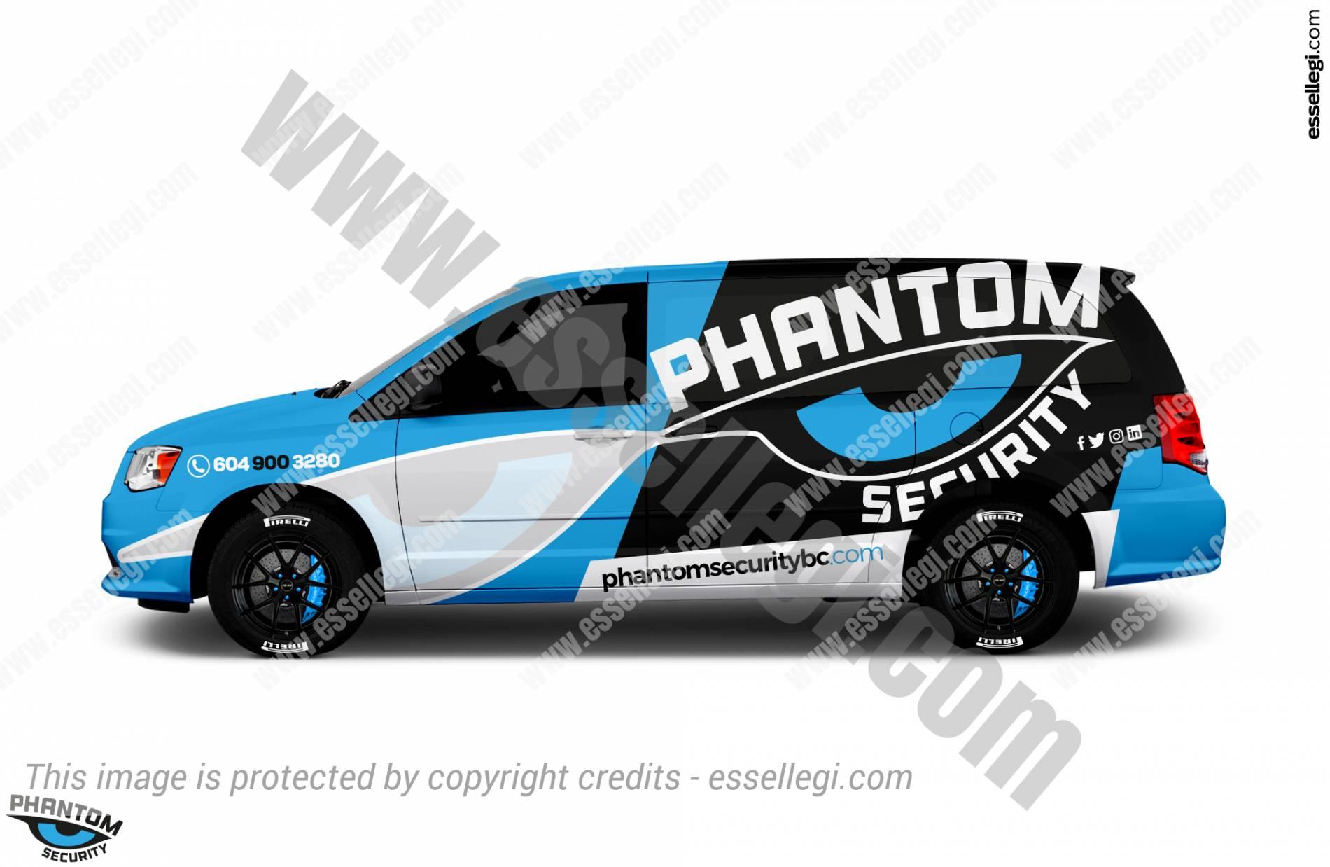 PHANTOM SECURITY | VAN WRAP DESIGN 🇨🇦