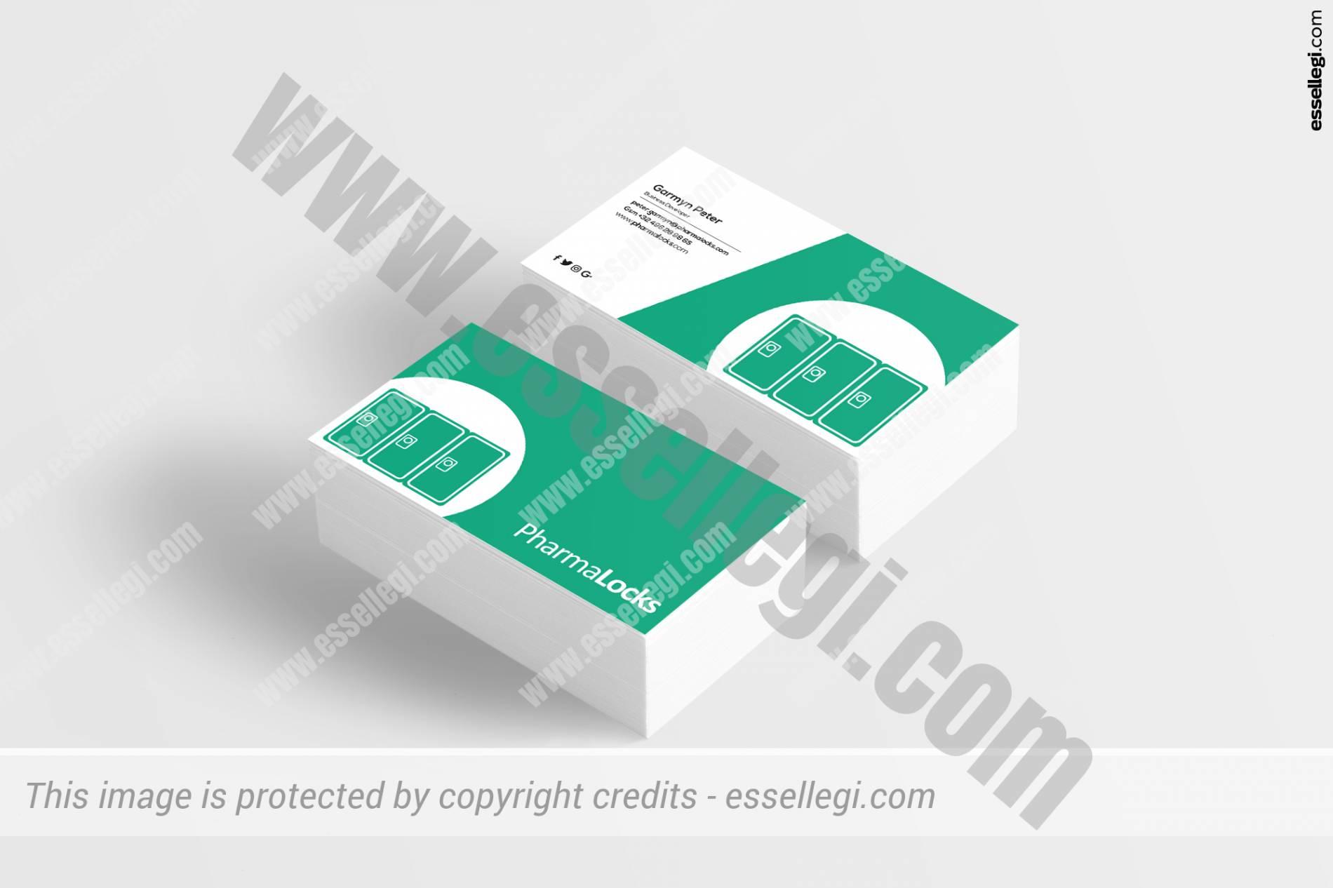 PHARMALOCKS | BUSINESS CARD DESIGN 🇧🇪