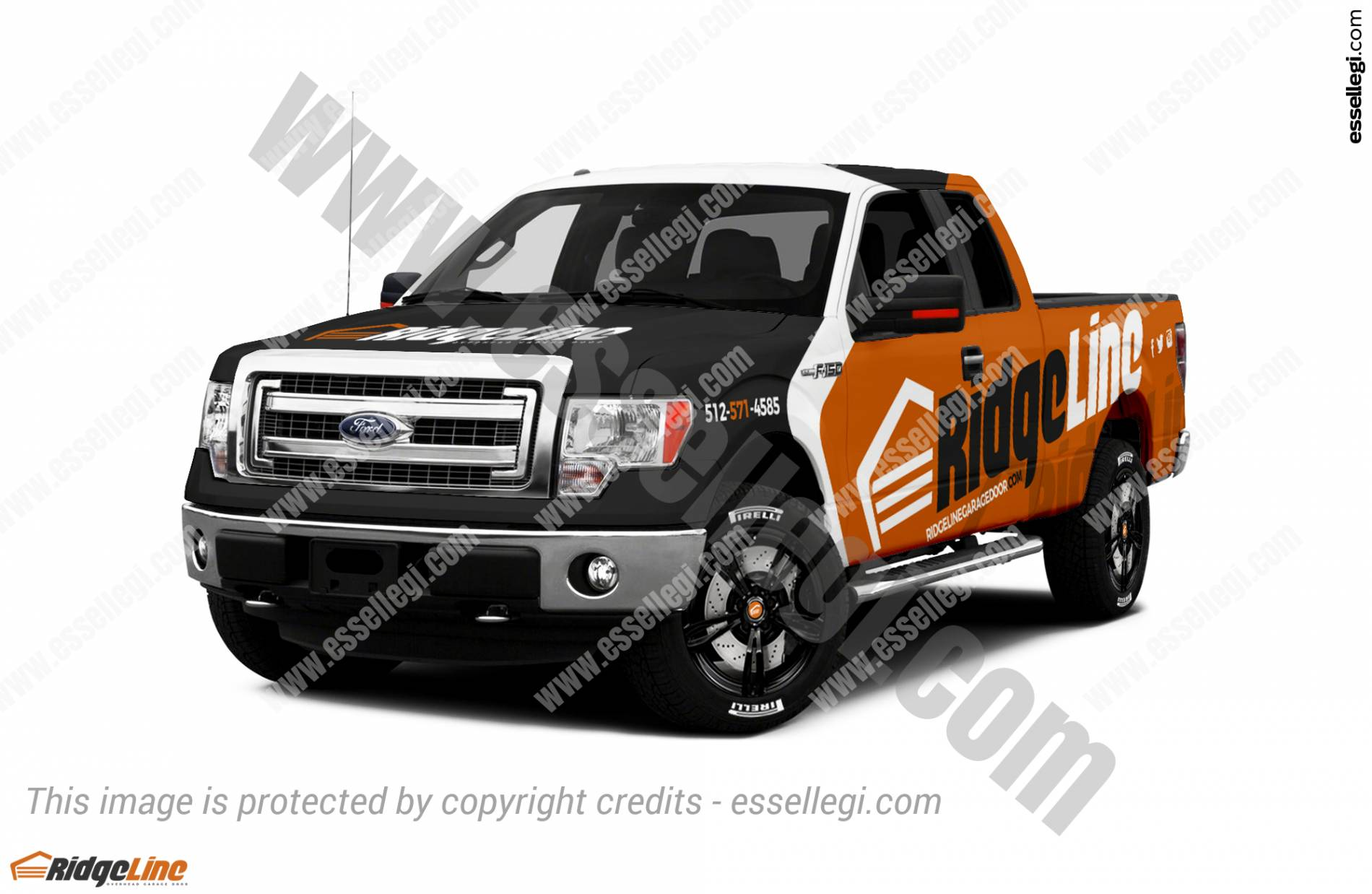 ford f 150 truck wrap design by essellegi wrap design