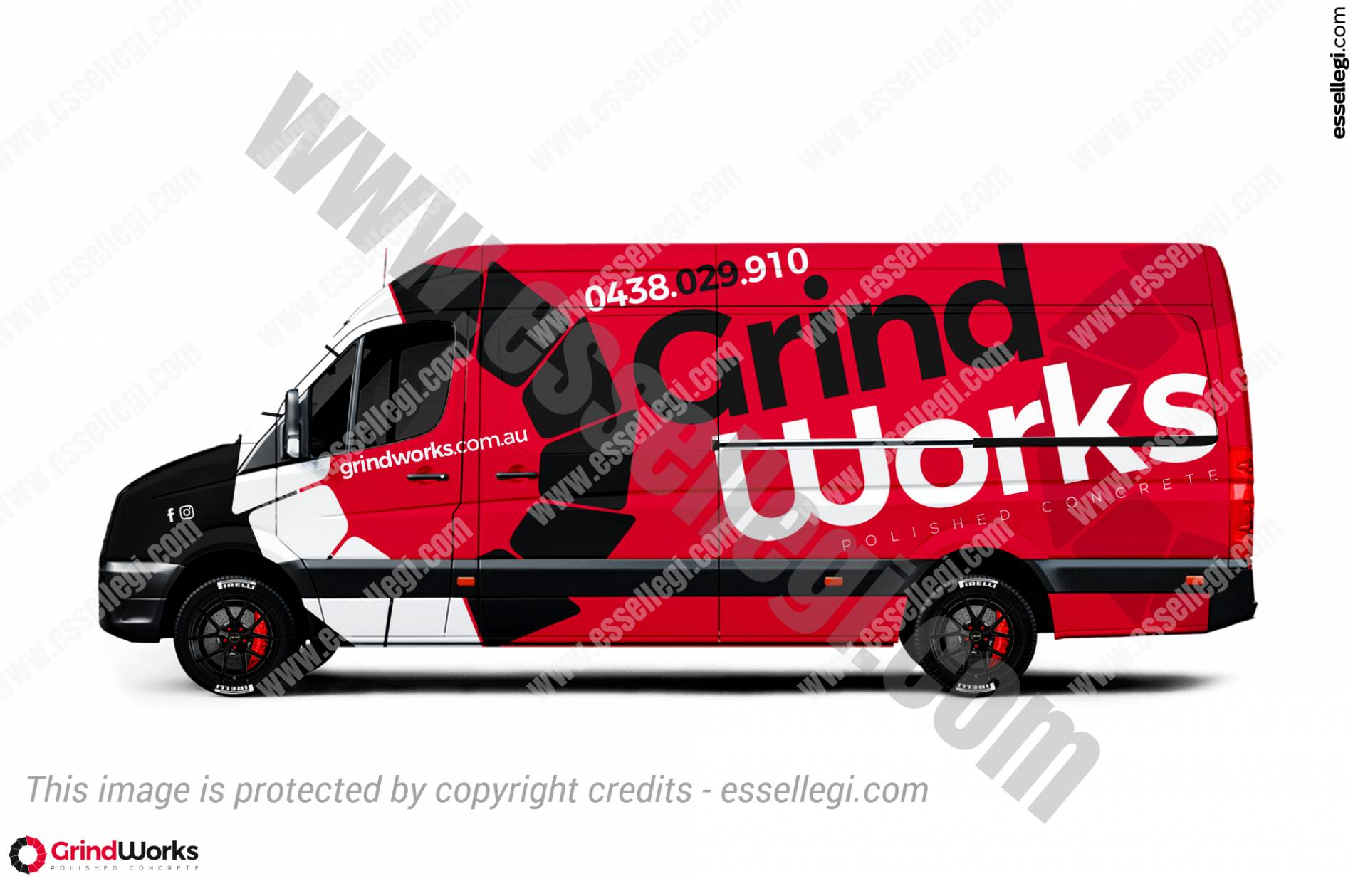GRINDWORKS | VAN WRAP DESIGN 🇦🇺