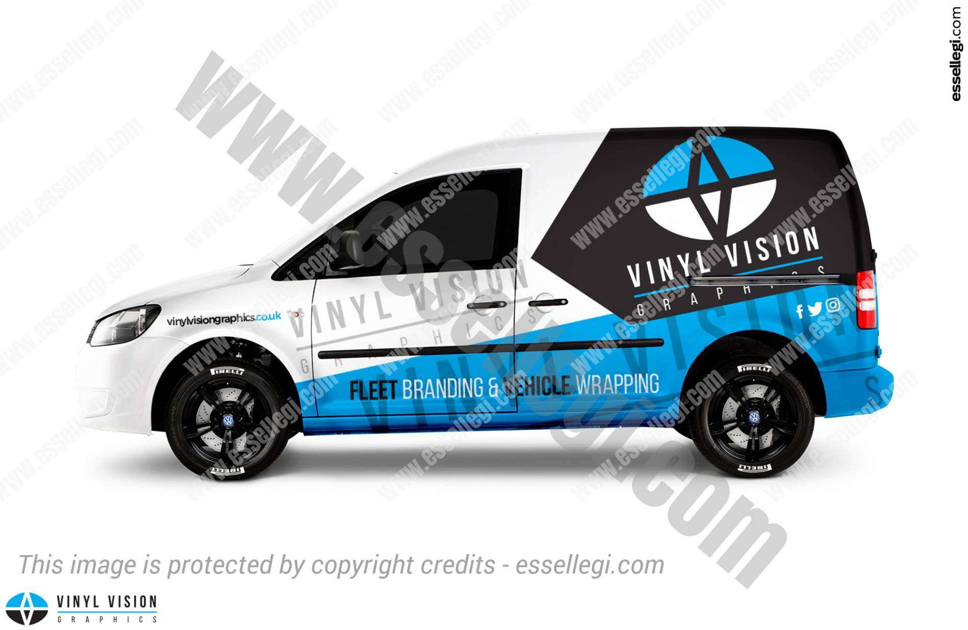 Volkswagen caddy wrap design volkswagen caddy van wrap design by essellegi van signs
