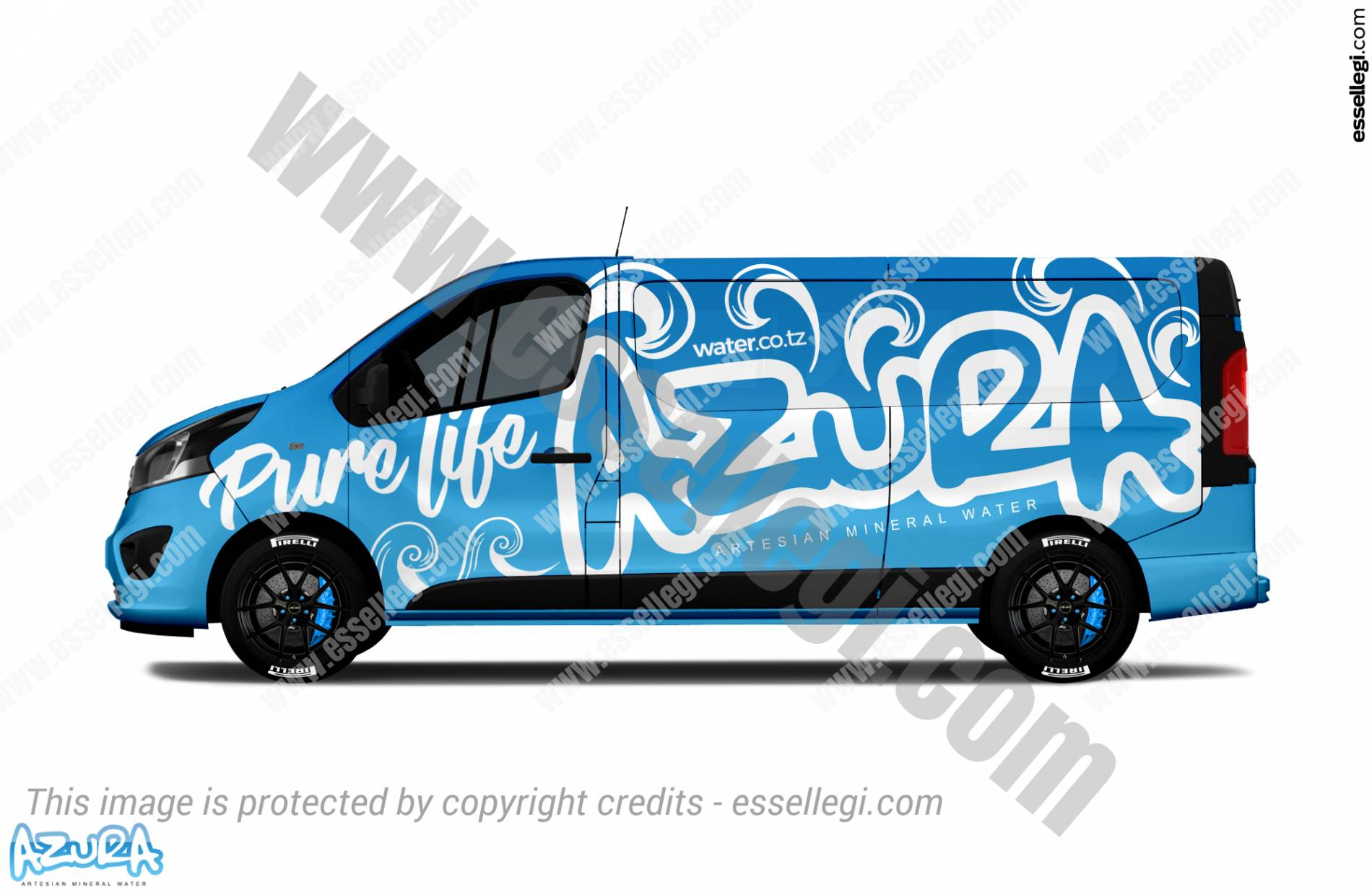 AZURA | VAN WRAP DESIGN 🇹🇿