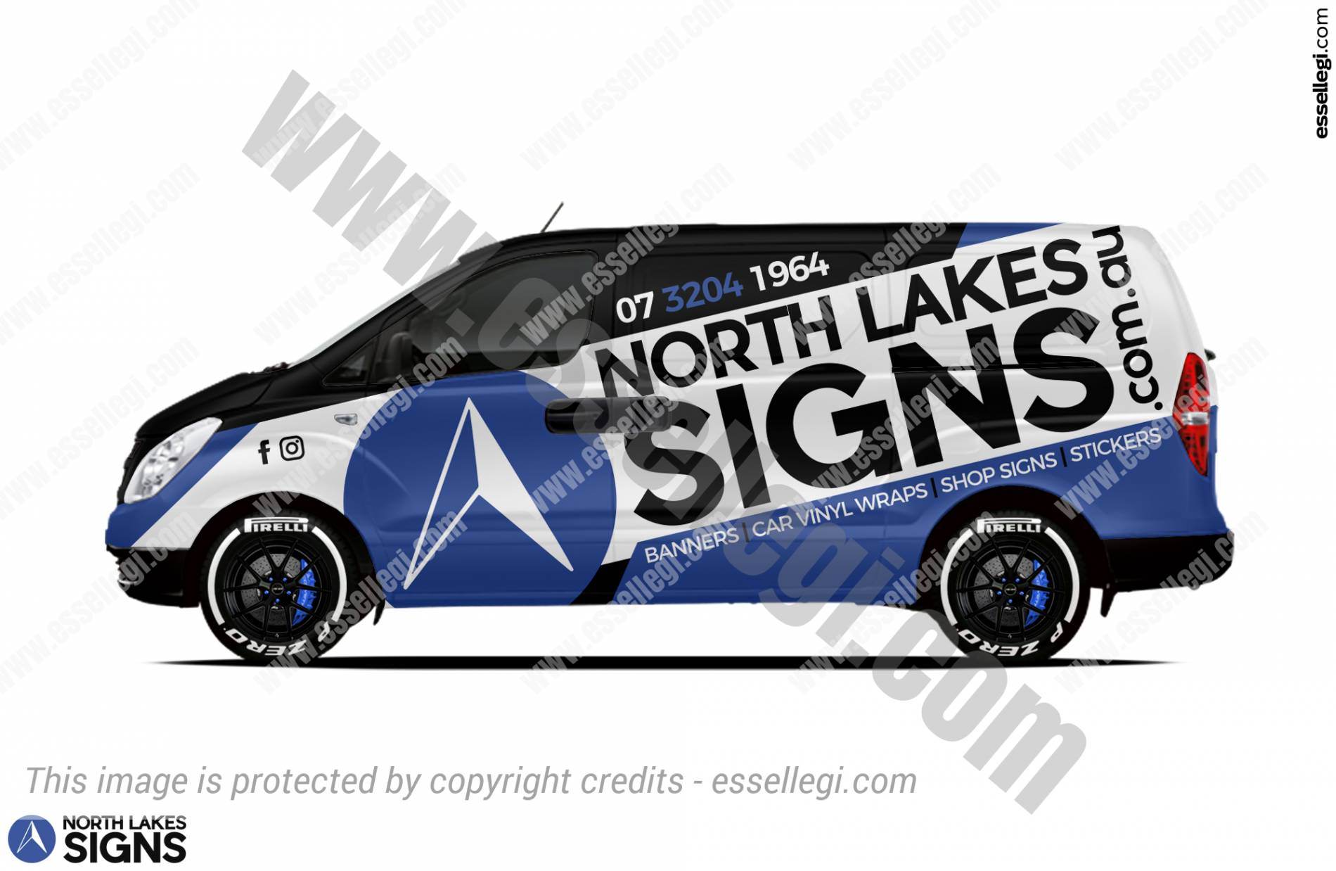 NORTH LAKES SIGNS | VAN WRAP DESIGN 🇦🇺