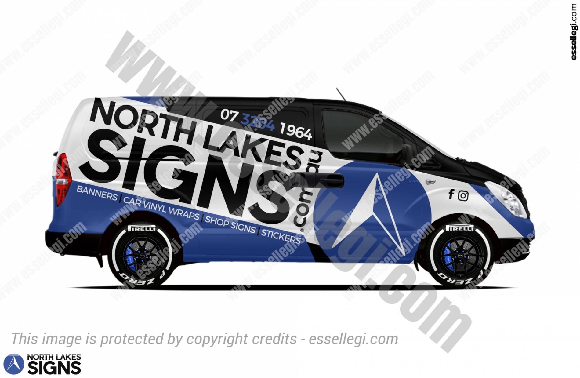 Best Hyundai iLoad Wrap Design for Signs, Signage & Wraps Company