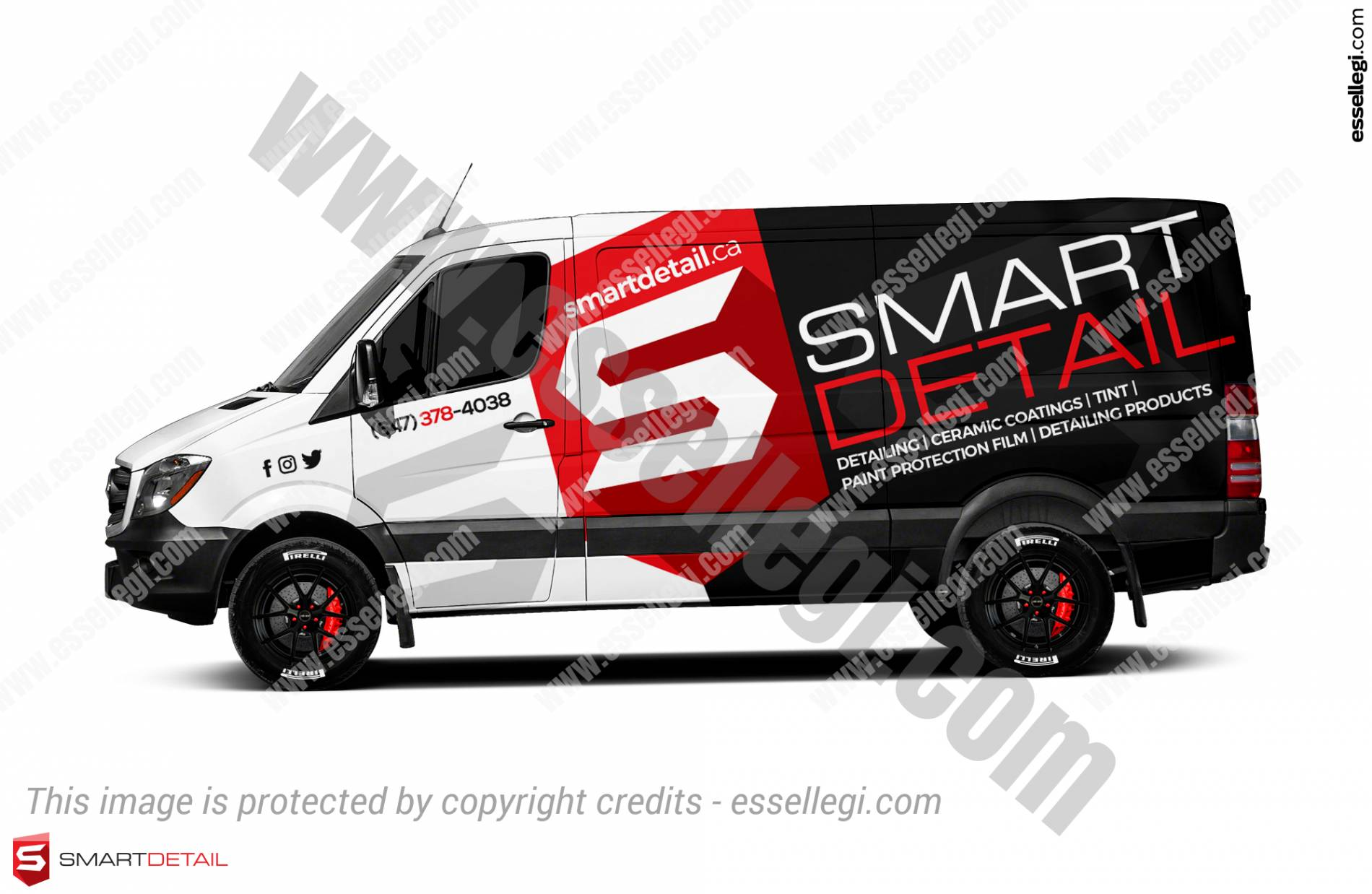 SMART DETAIL | VAN WRAP DESIGN 🇨🇦