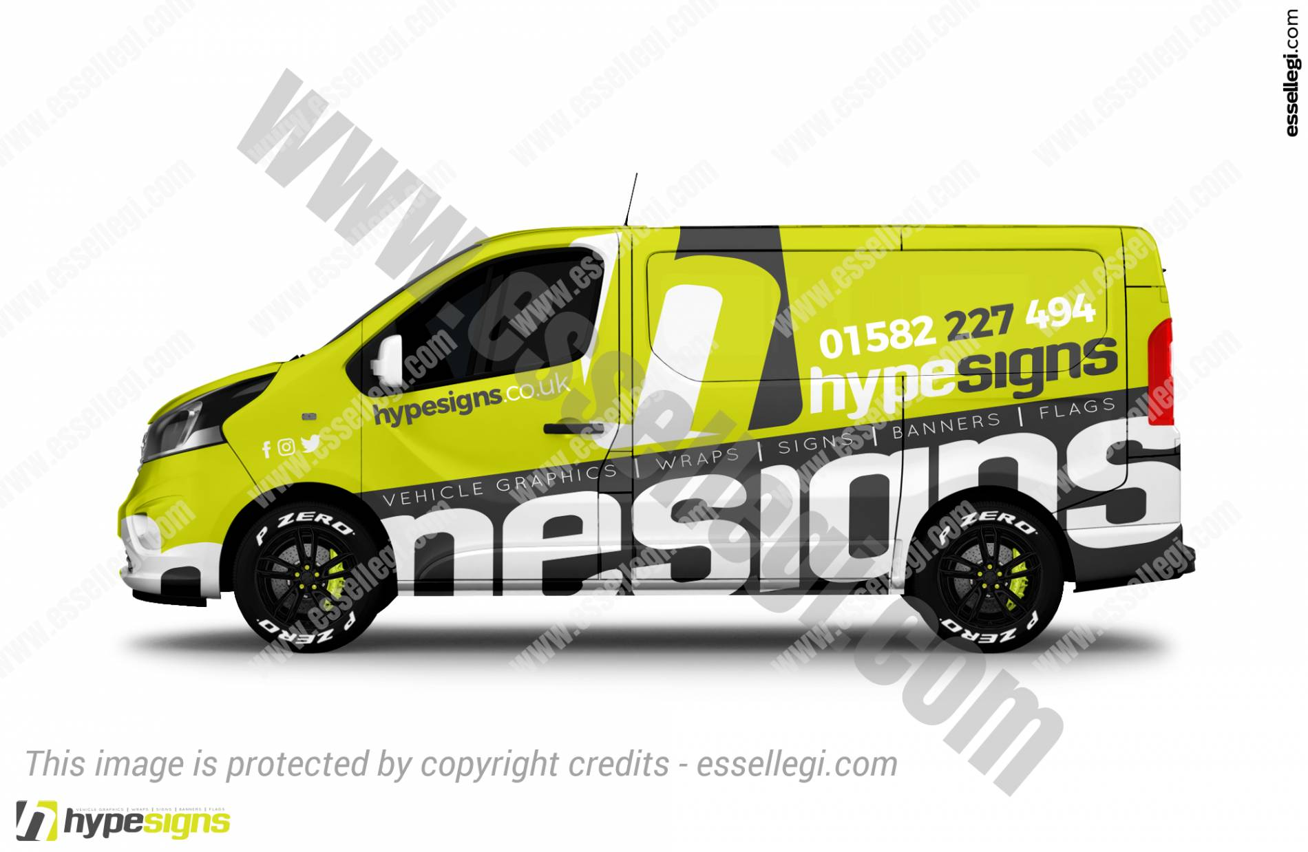 HYPESIGNS | VAN WRAP DESIGN 🇬🇧
