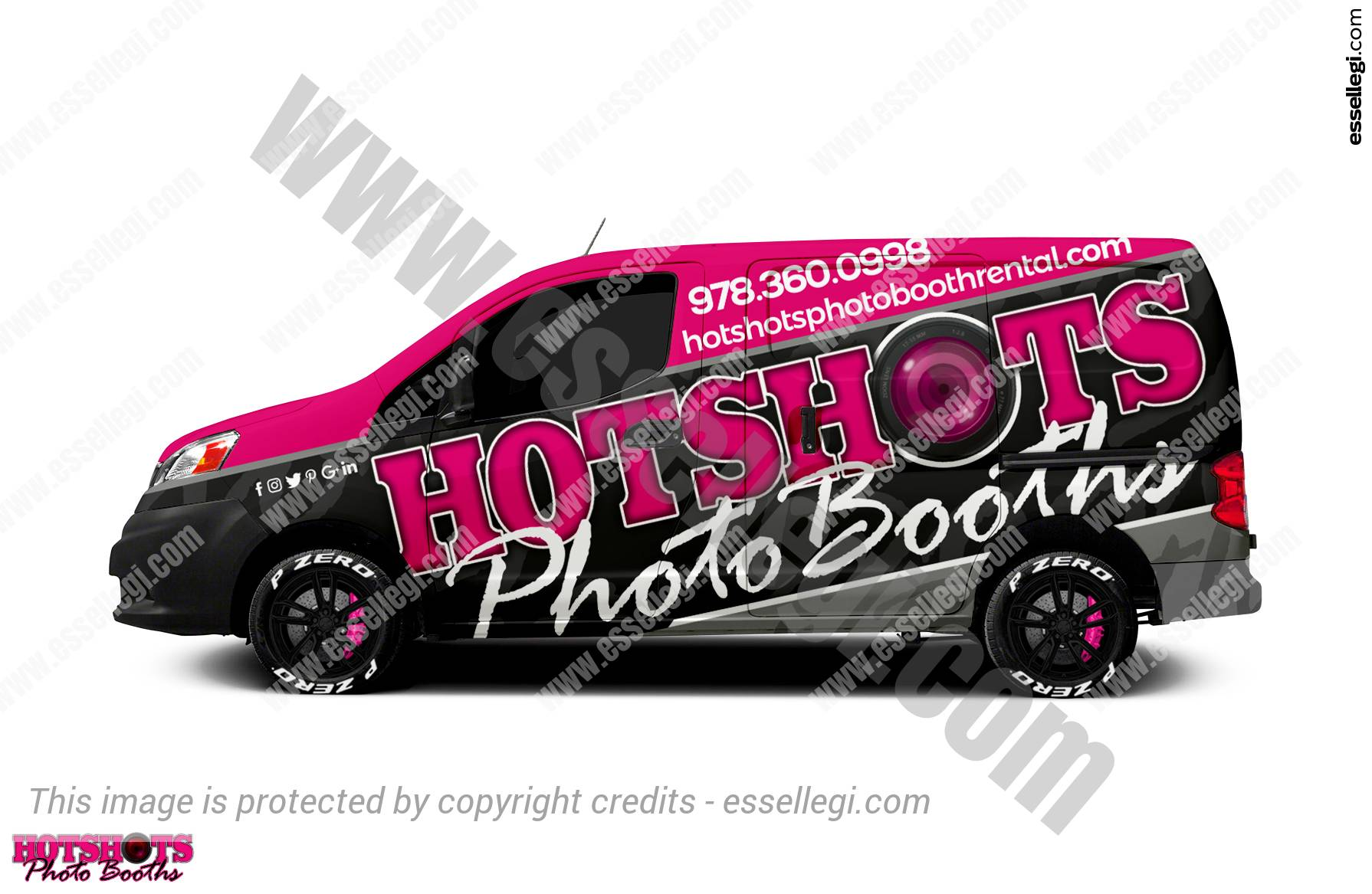 HOTSHOTS PHOTO BOOTH | VAN WRAP DESIGN 🇺🇸