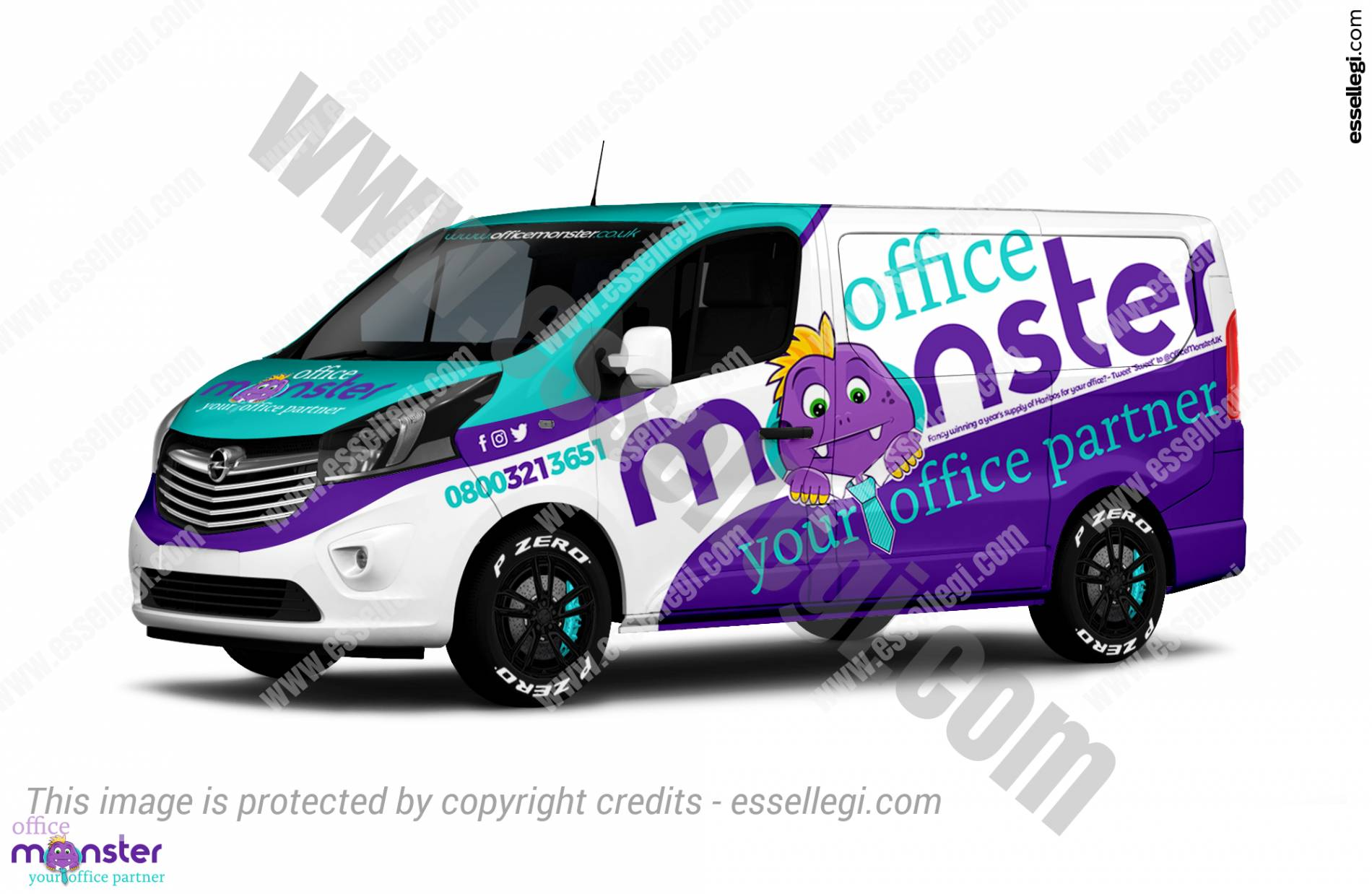 Vauxhall Vivaro Wrap Design. Vauxhall | Van Wrap Design by Essellegi. Van Signs, Van Signage, Van Wrapping, Van Signwriting, Van Wrap Designer, Signs for Van, Van Logo, Van Graphic by Essellegi.