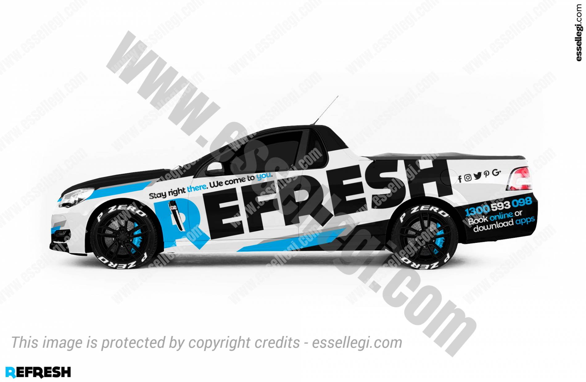 REFRESH | UTE WRAP DESIGN 🇦🇺