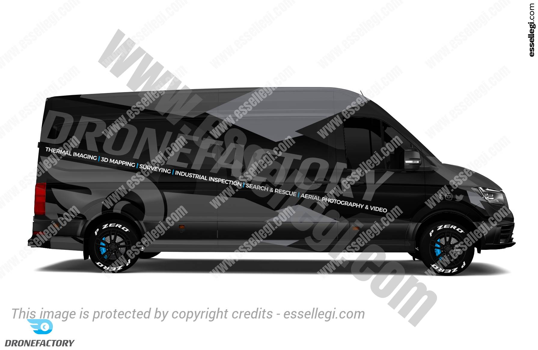 Volkswagen Crafter Wrap Design. Volkswagen Crafter | Van Wrap Design by Essellegi. Van Signs, Van Signage, Van Wrapping, Van Signwriting, Van Wrap Designer, Signs for Van, Van Logo, Van Graphic by Essellegi.