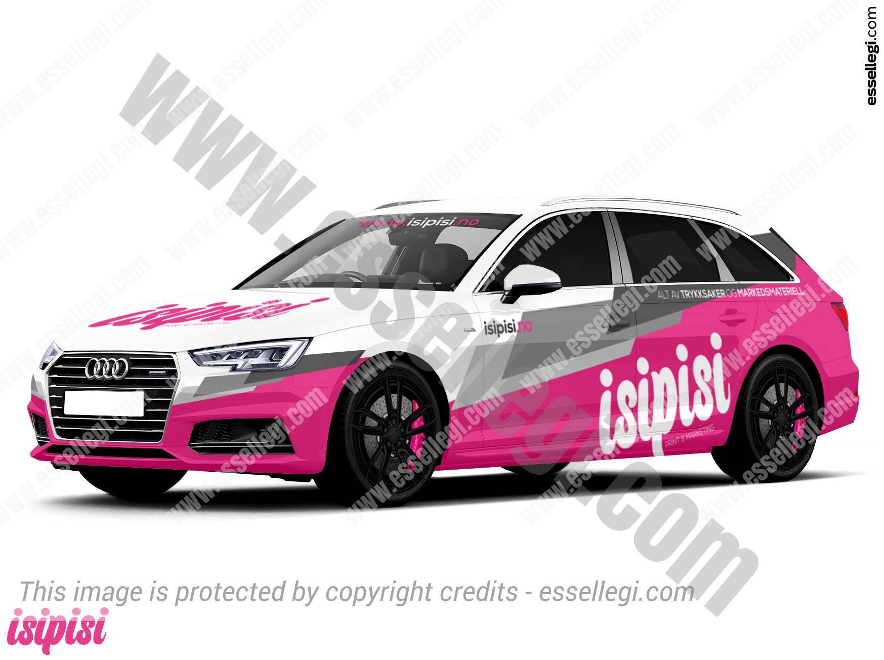 audi a4 avant car wrap design by essellegi wrap design. Black Bedroom Furniture Sets. Home Design Ideas